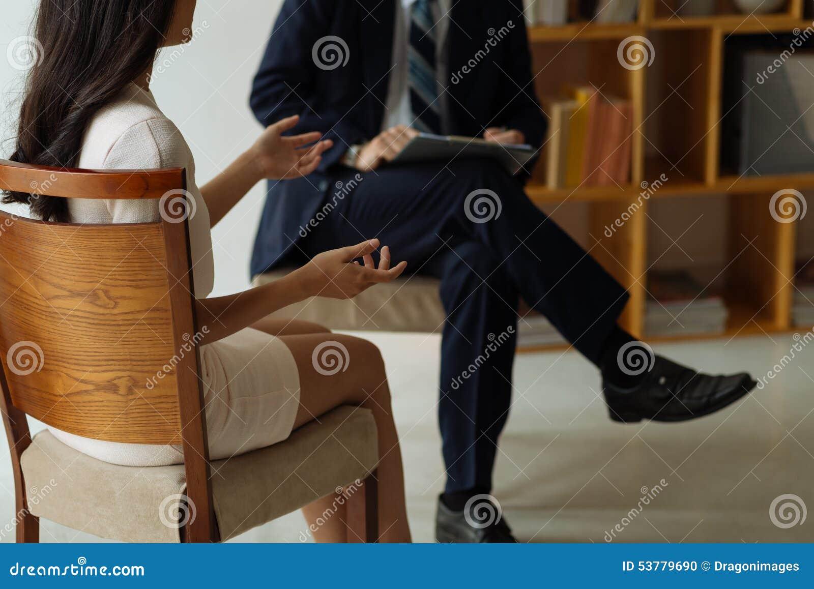 Samtal till psykologen