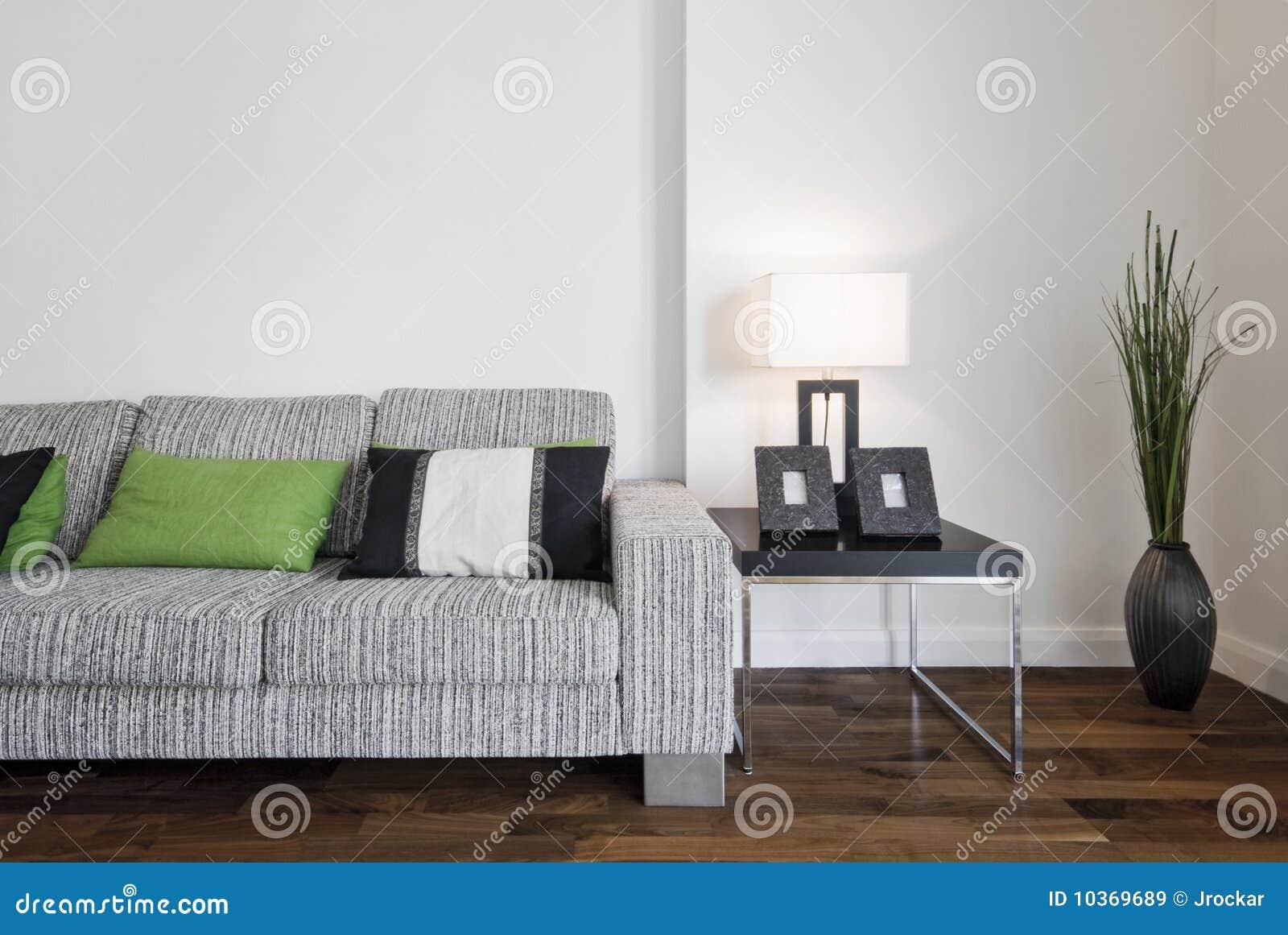 Samtida sofa