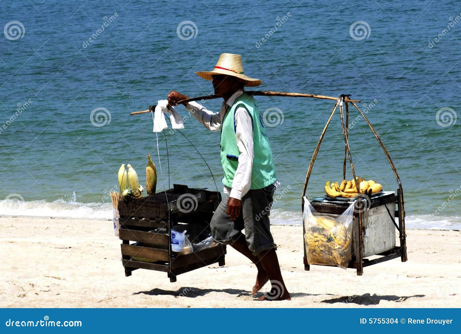 Samui thailand för strandökoh