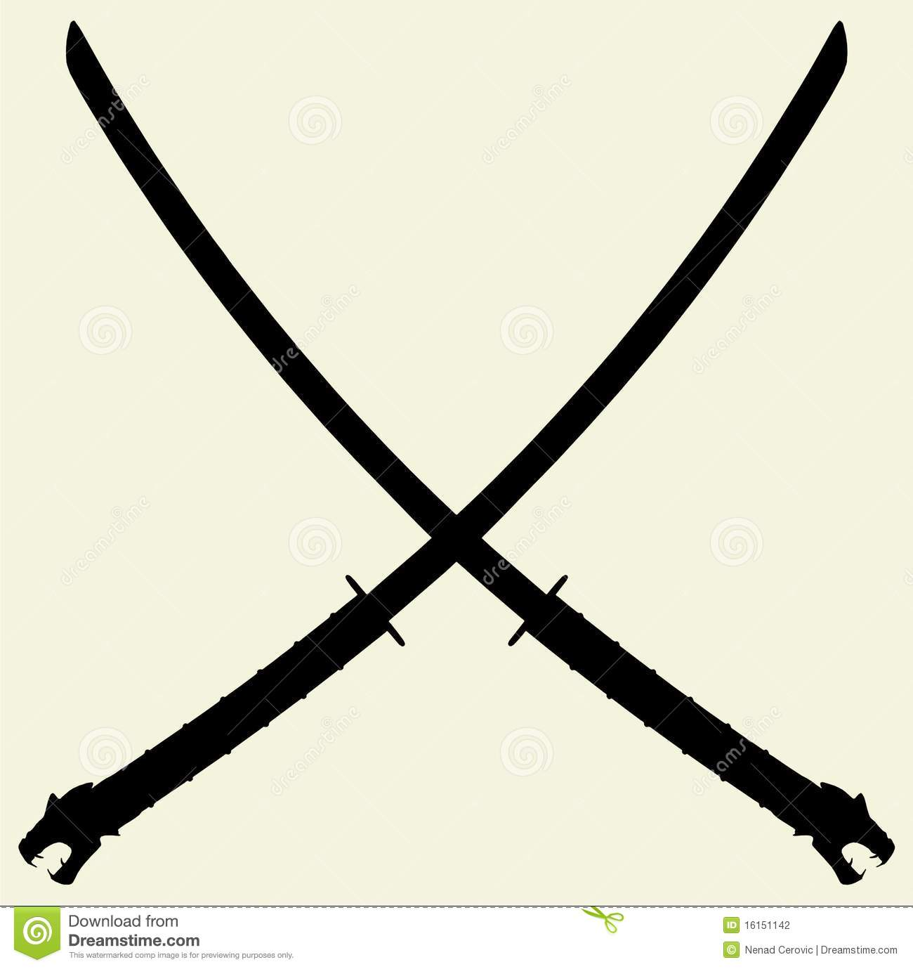 Samurai Katana Vector 01 Stock Photography  Image 16151142