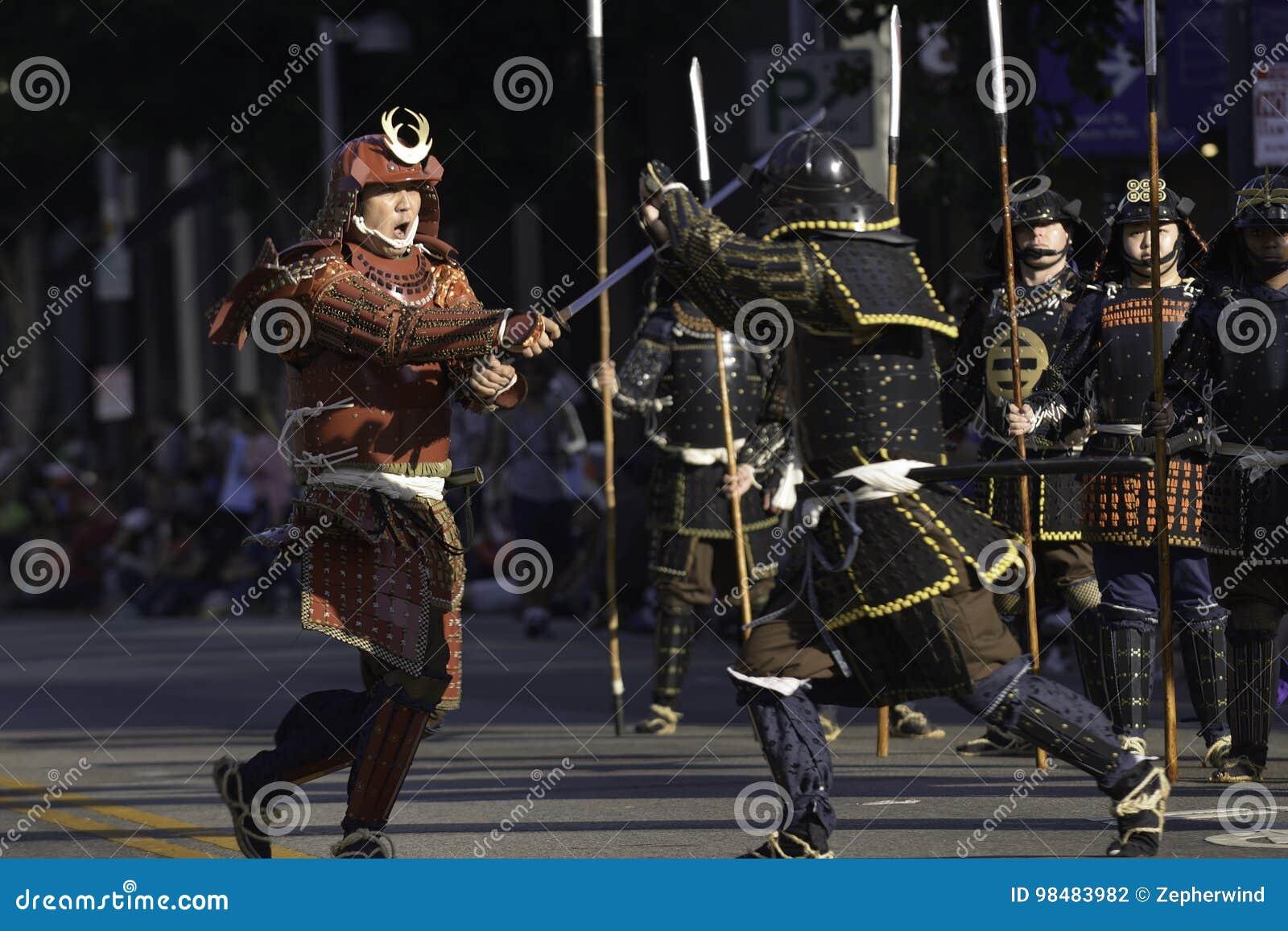 Samurai Krieger