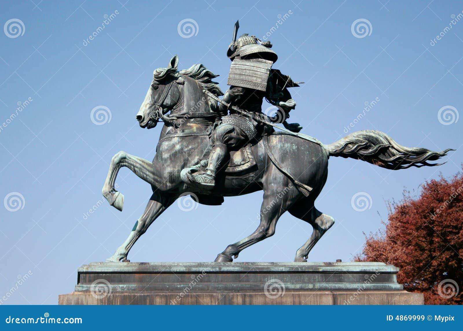 Samurai-Reitpferd