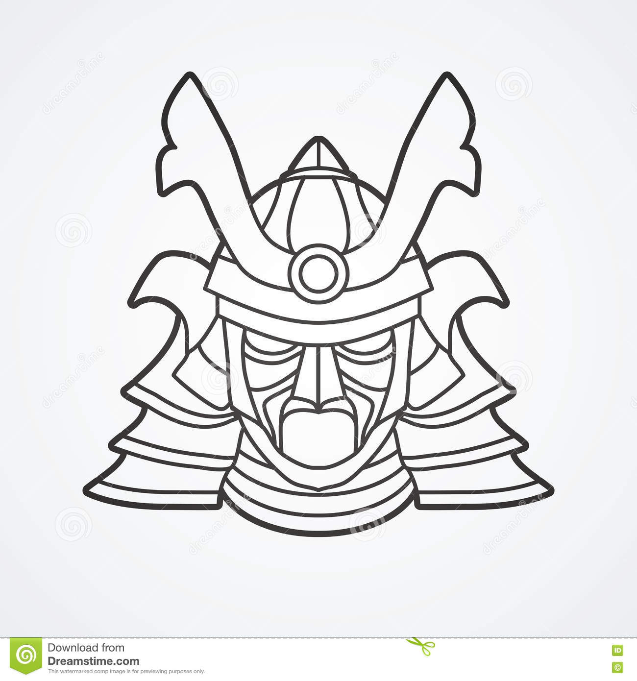 Kabuki mask coloring pages sketch coloring page for Kabuki mask template