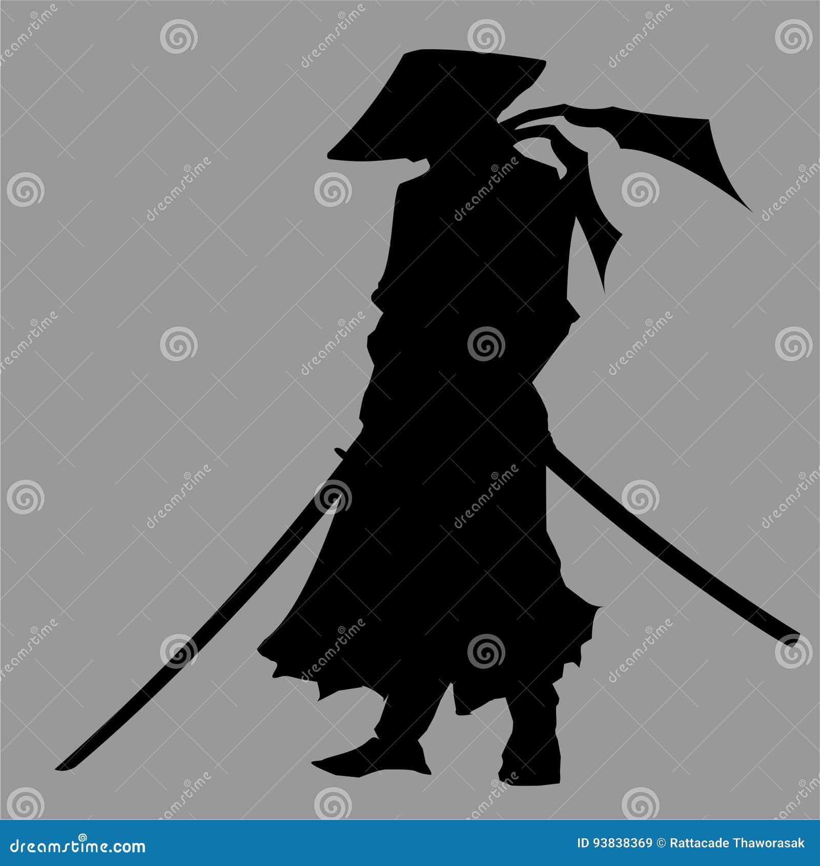 Samuraj sylwetka