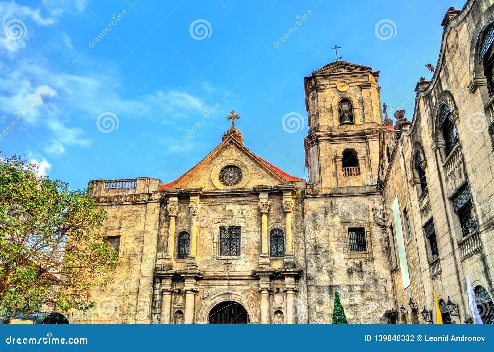 San Agustin Church em Manila, as Filipinas