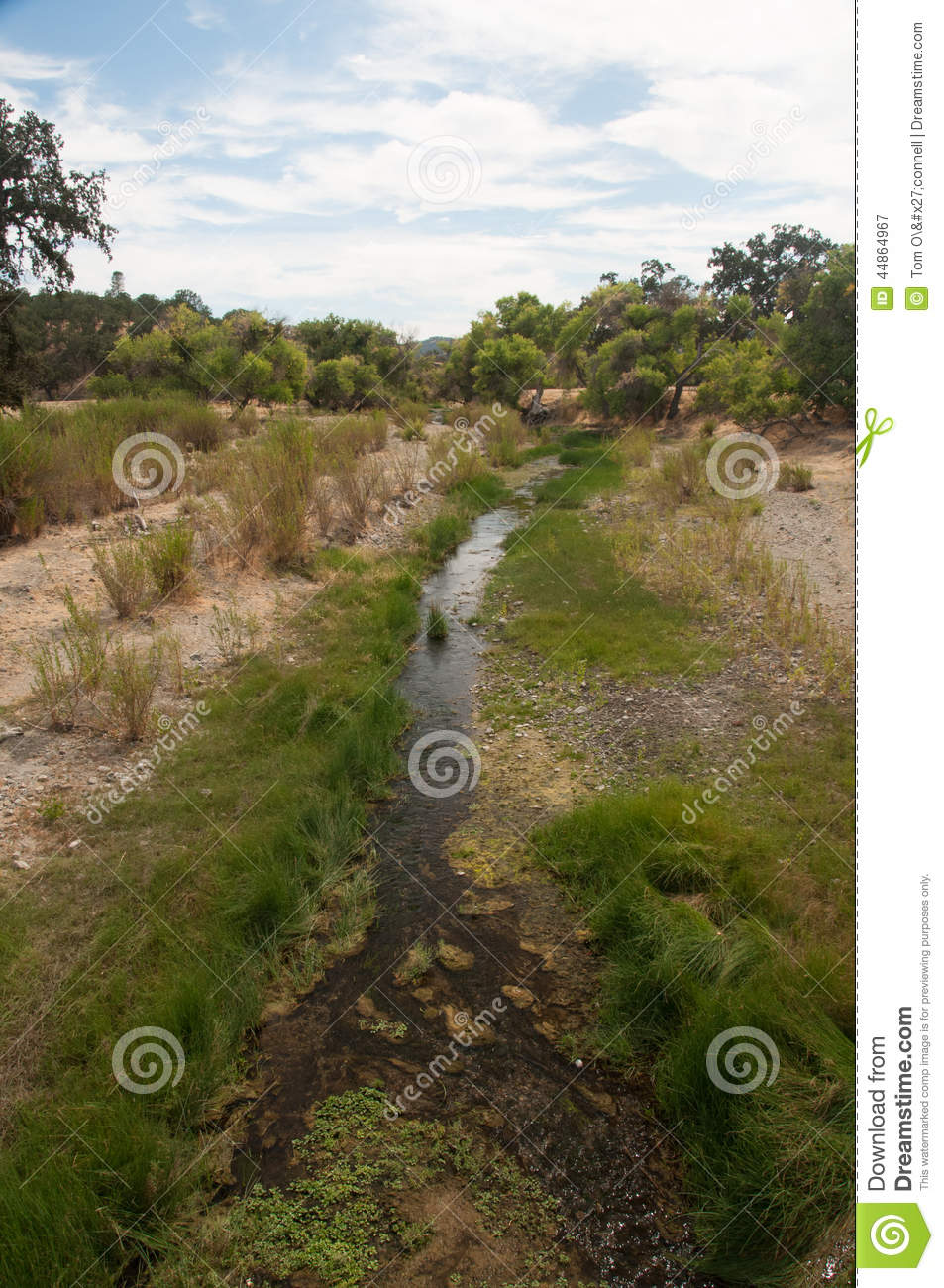 is usually dry. It is the exact fault line of the San Andreas Fault ...