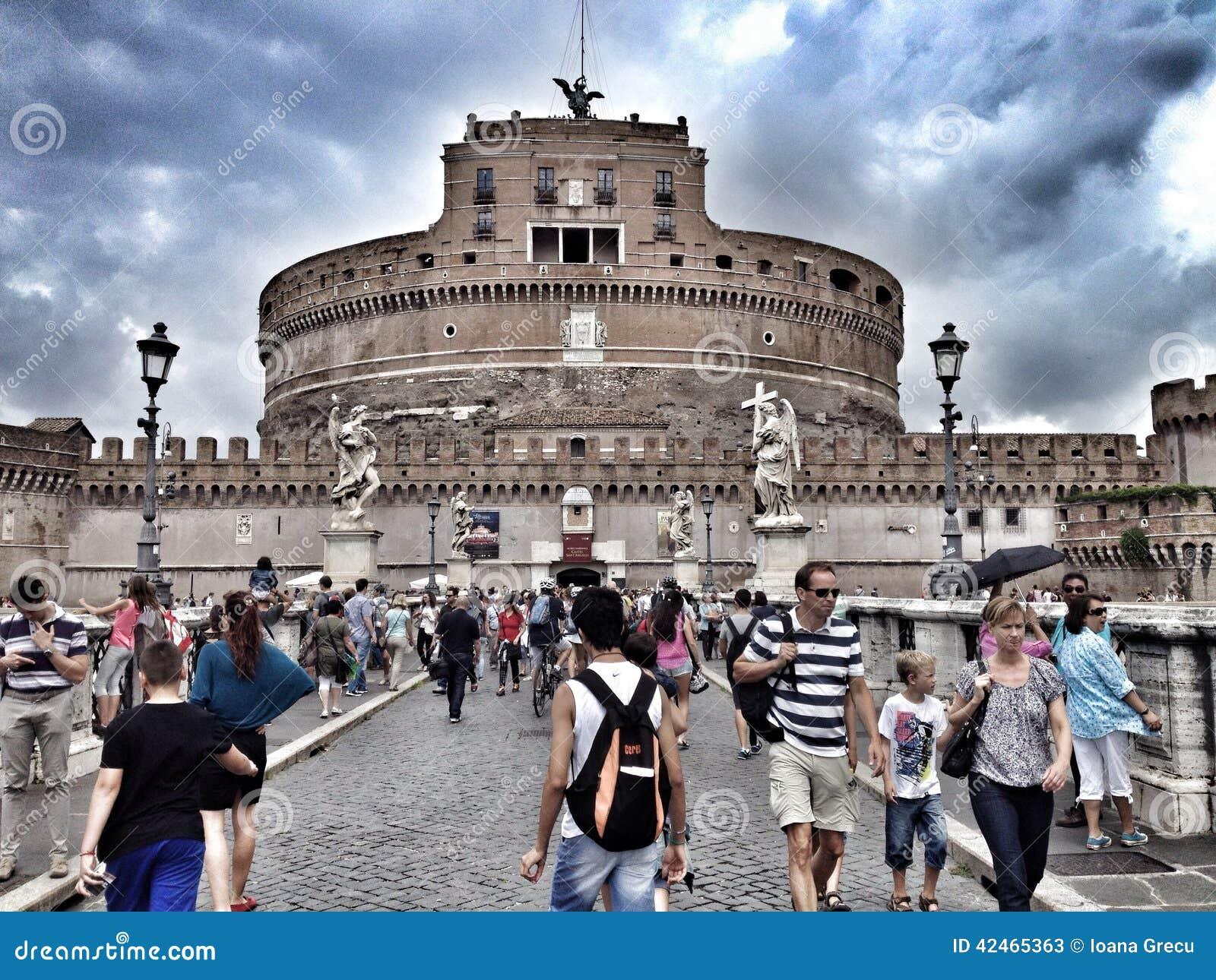 San Angelo Castle, Rom, Italien