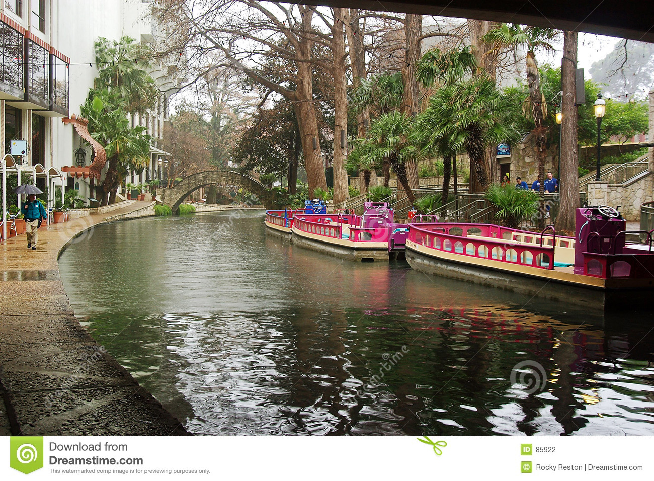 San antonio łodzi riverwalk