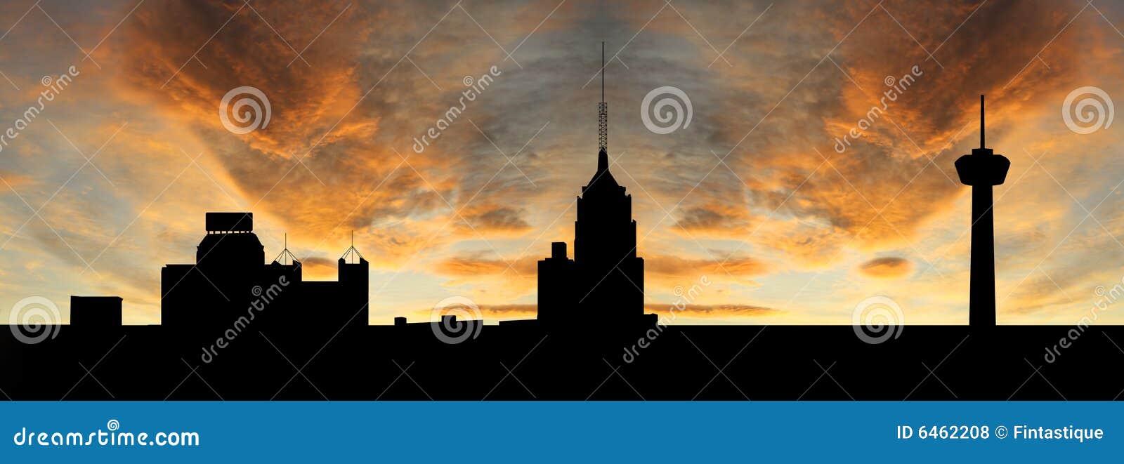 San Antonio al tramonto