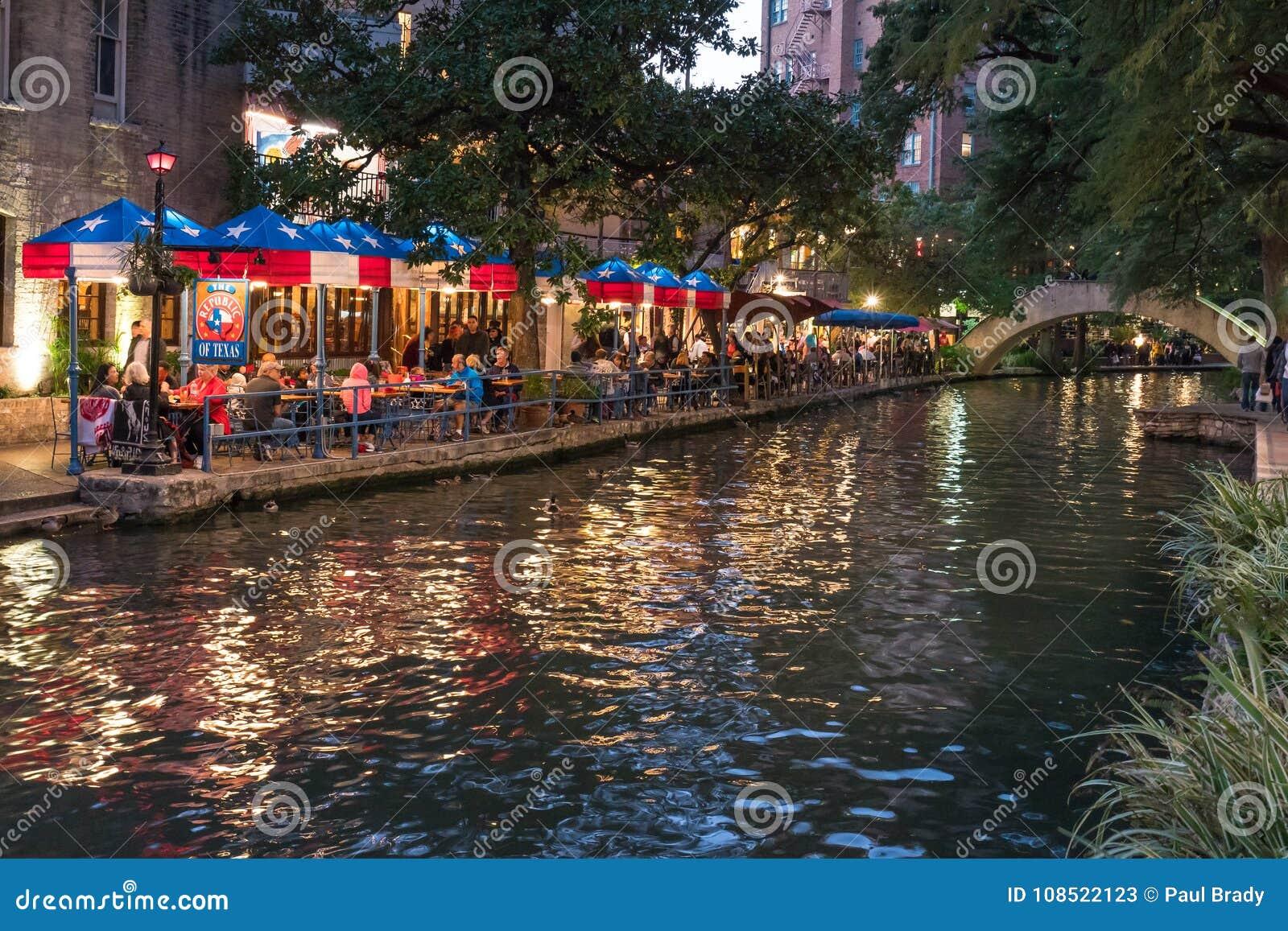 San Antonio Riverwalk, il Texas