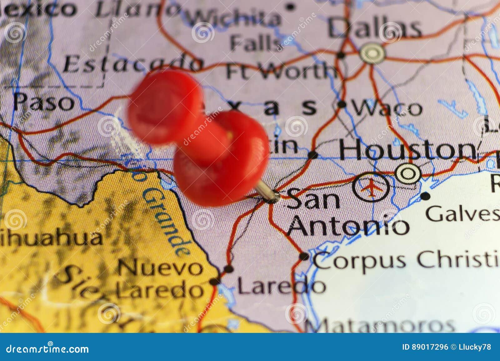 San Antonio Texas USA Pinned Map Stock Illustration ... on tallahassee usa map, olympia usa map, santa fe usa map, great plains usa map, deep south usa map, panama city usa map, st. louis usa map, daytona usa map, mcallen usa map, abilene usa map, tucson usa map, helena usa map, vancouver usa map, wichita usa map, cheyenne usa map, calgary usa map, tulsa usa map, cancun usa map, athens usa map, orlando usa map,