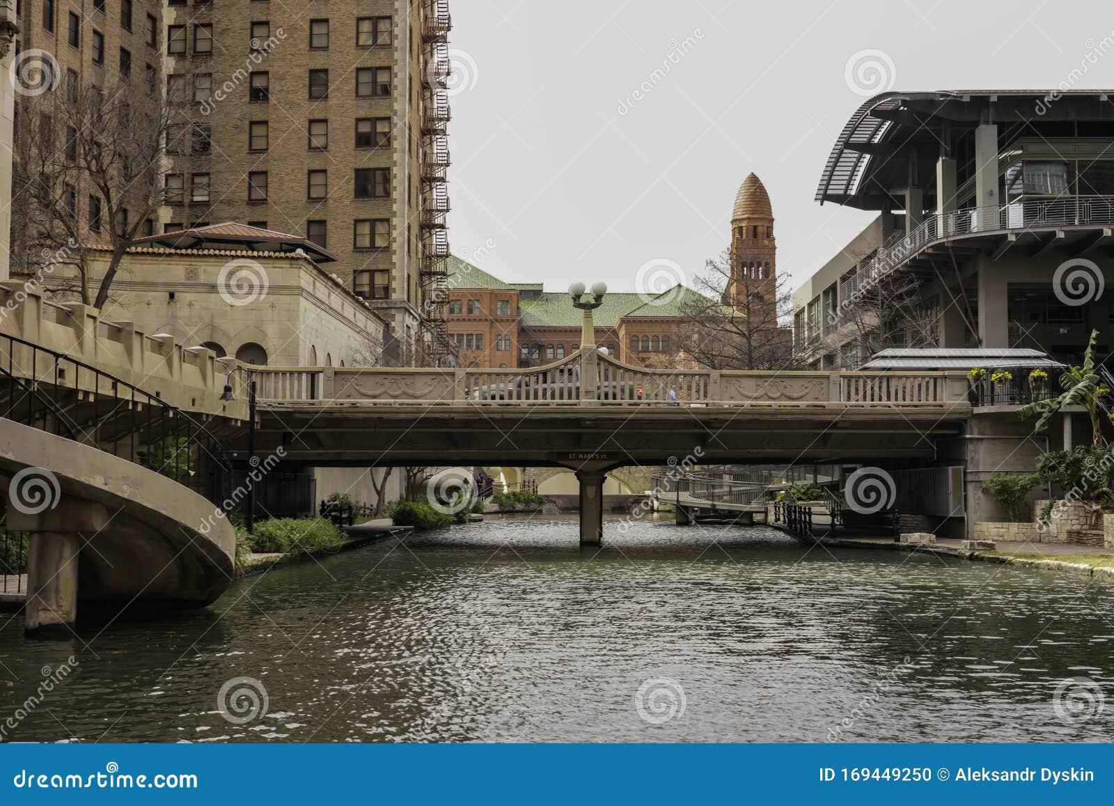 San Antonio Texas Usa Riverwalk Landscapes And Architecture
