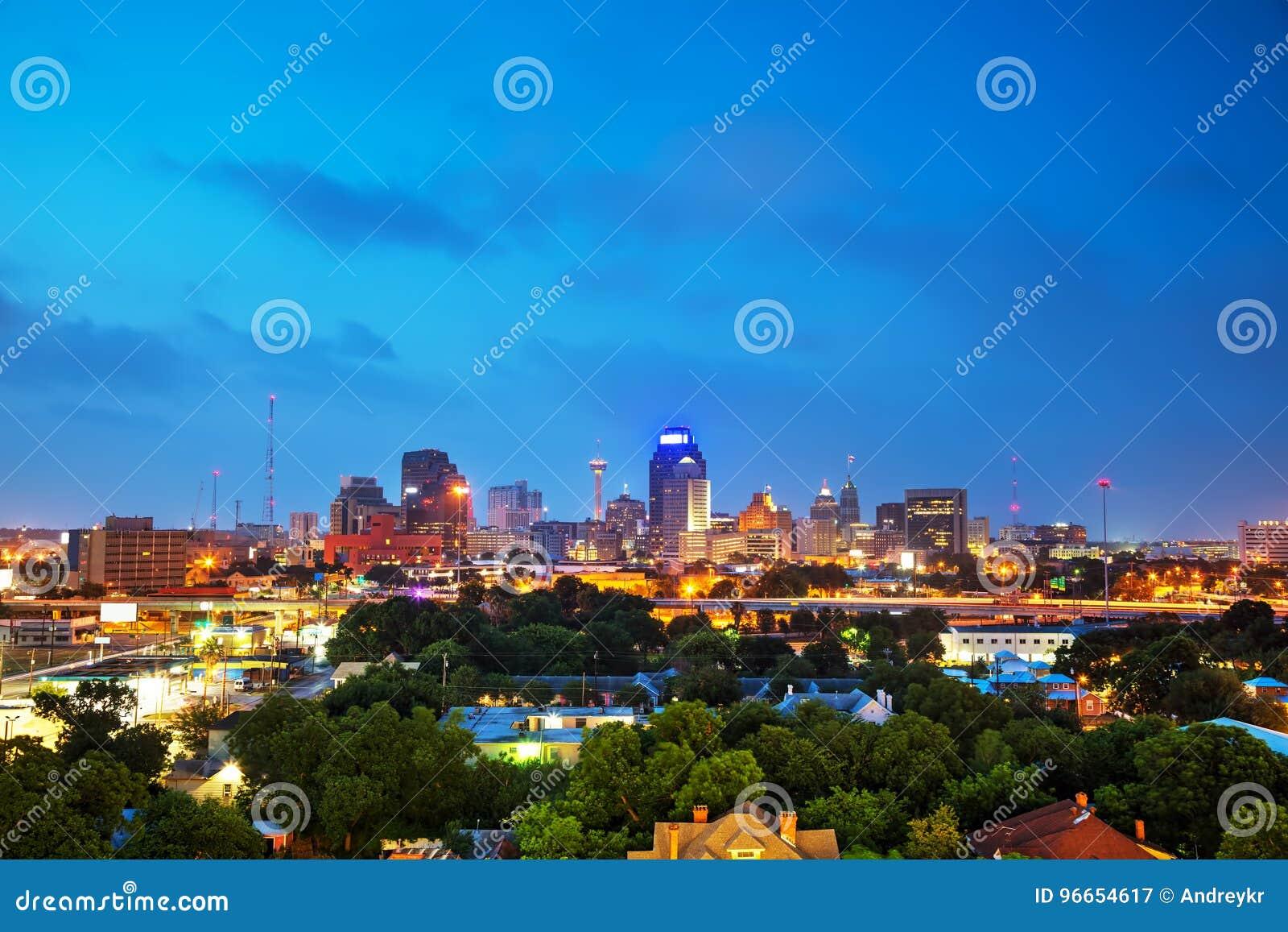 San Antonio, TX-cityscape