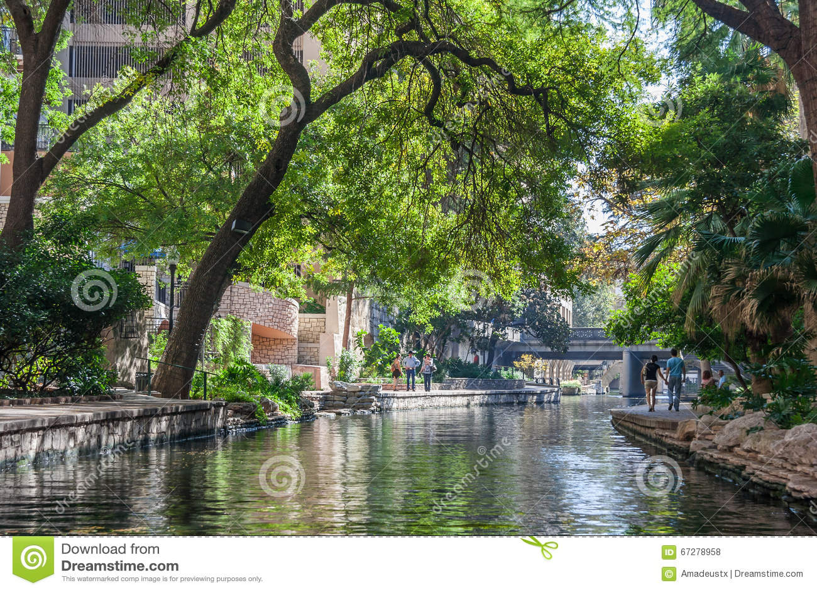 San Antonio, TX/USA - το Νοέμβριο του 2015 circa: Περίπατος ποταμών στο San Antonio, Τέξας