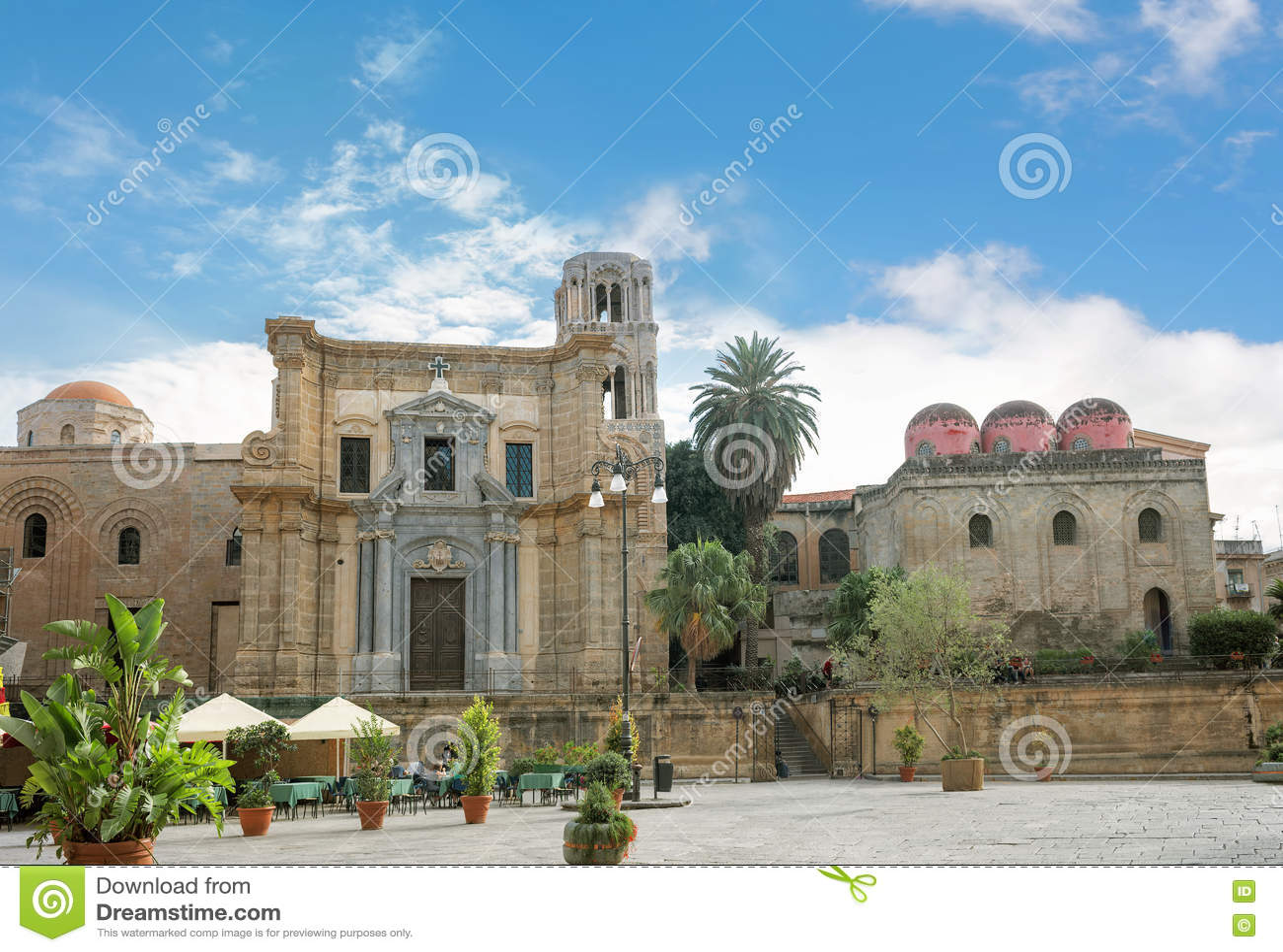 San Cataldo Church Palermo Sicily