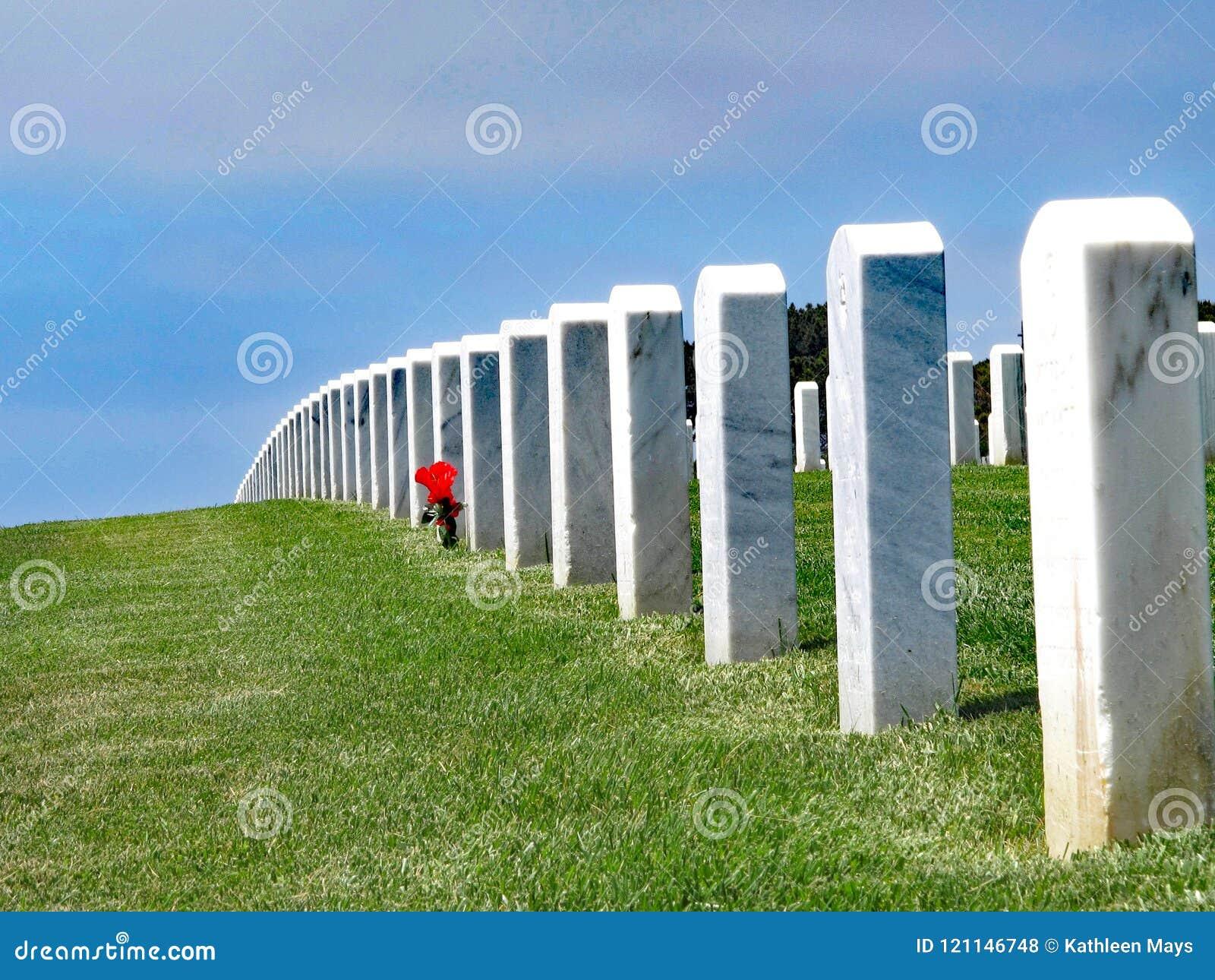San Diego, Californië, de V.S., de Nationale Begraafplaats van Fortrosecrans