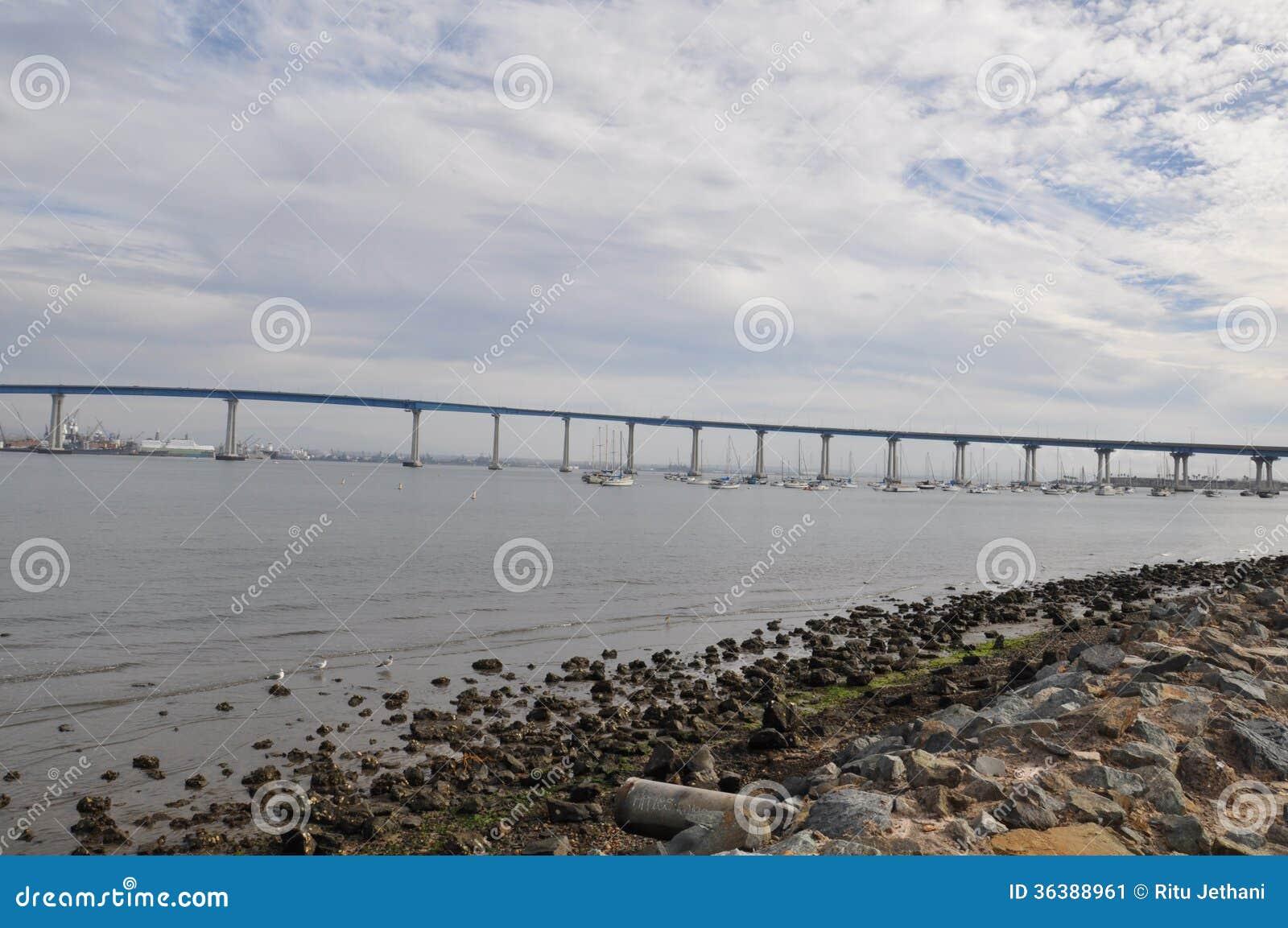 San Diego - Coronado Bridge in California