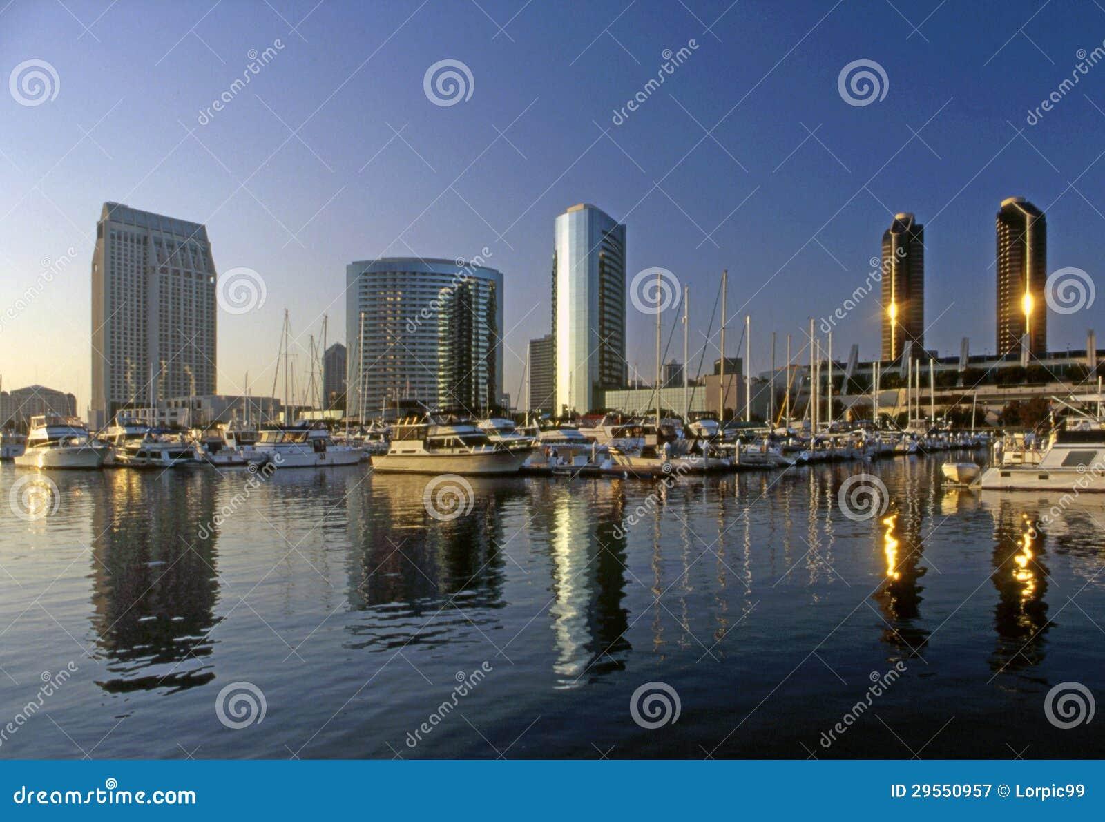 San Diego, Embarcadero Jachthaven, Californië