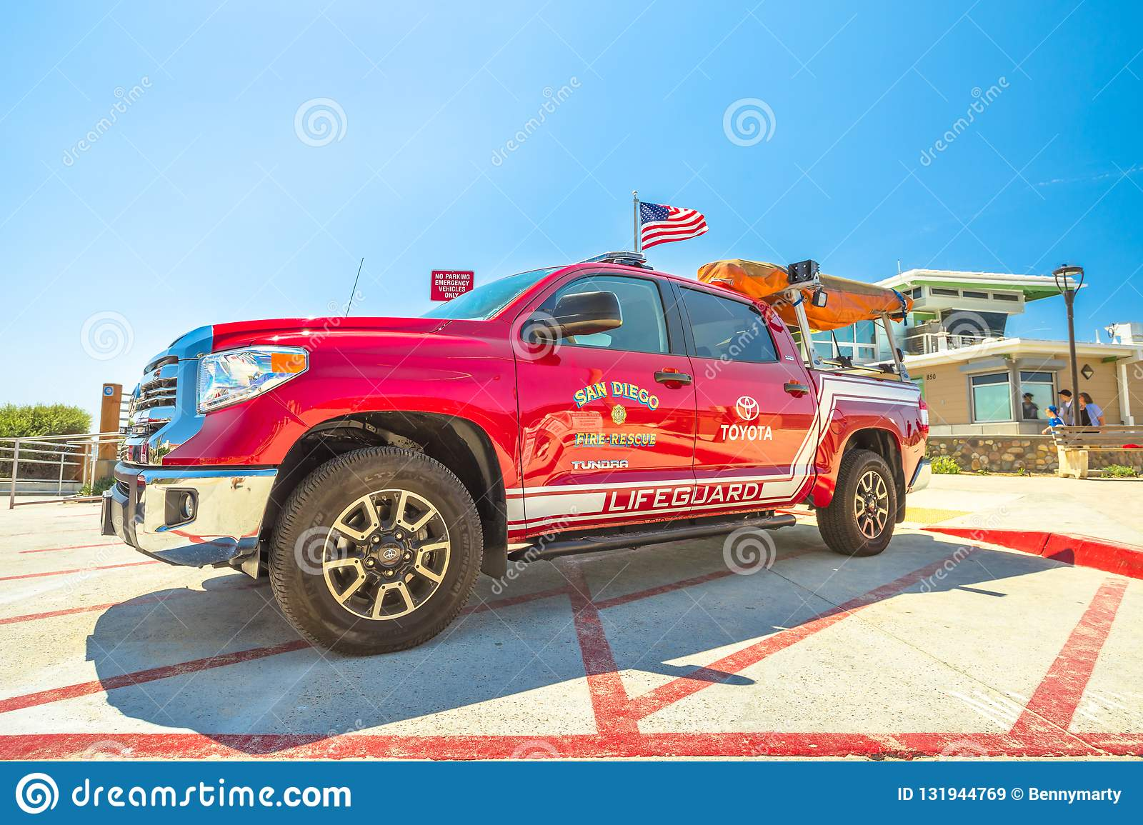 San Diego fire-rescue editorial stock image  Image of diego