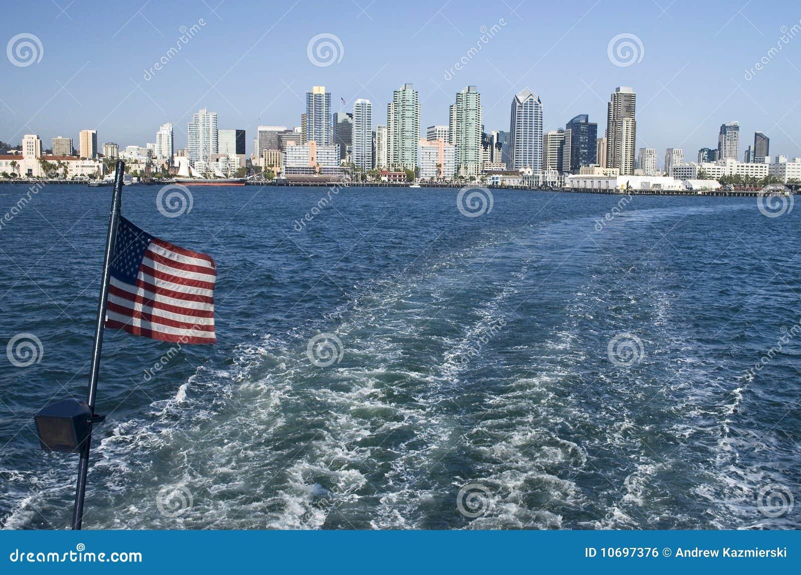 San Diego Harbor View Royalty Free Stock Image Image