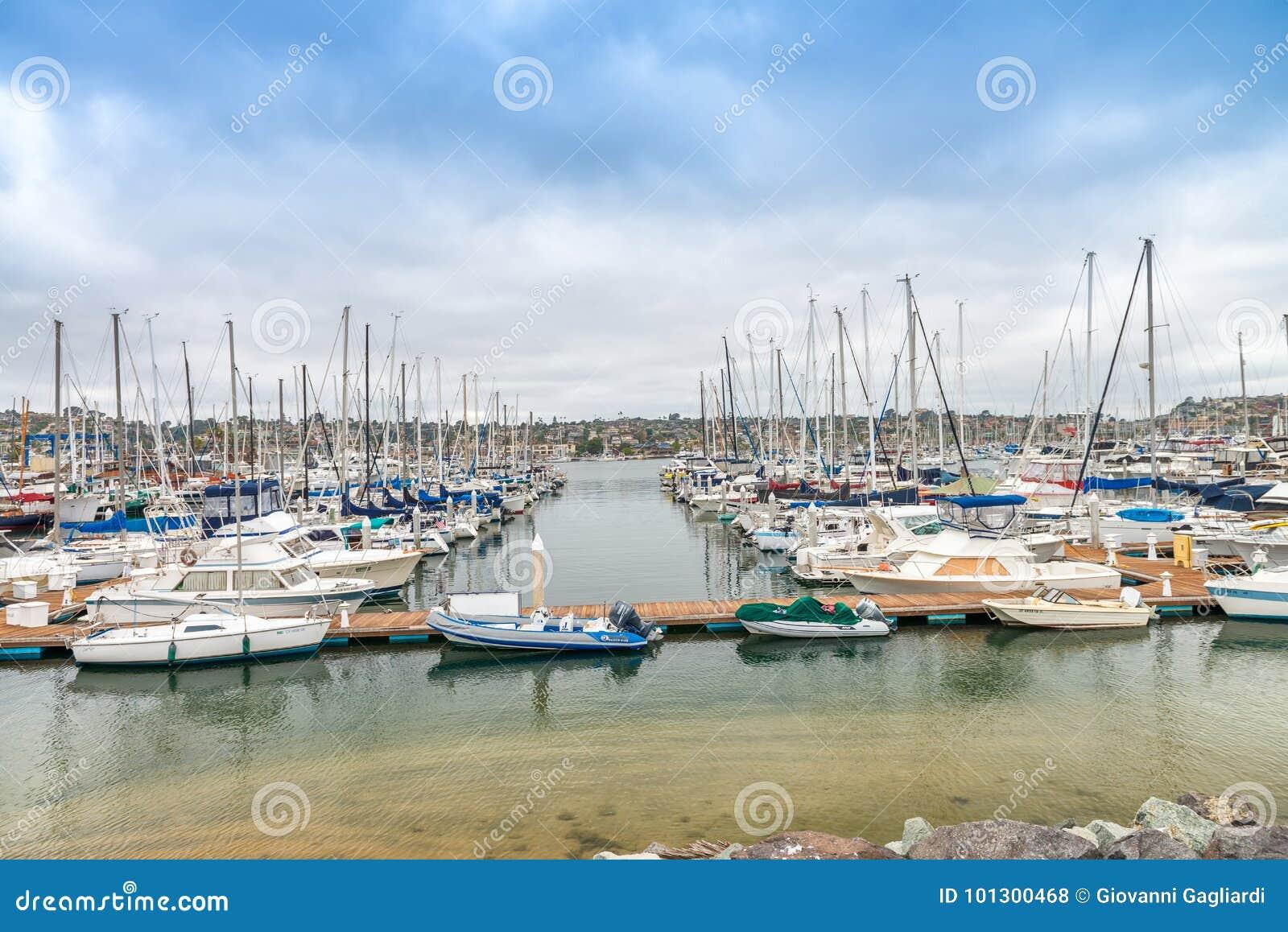 san diego july 29 2017 boats in san diego port san. Black Bedroom Furniture Sets. Home Design Ideas