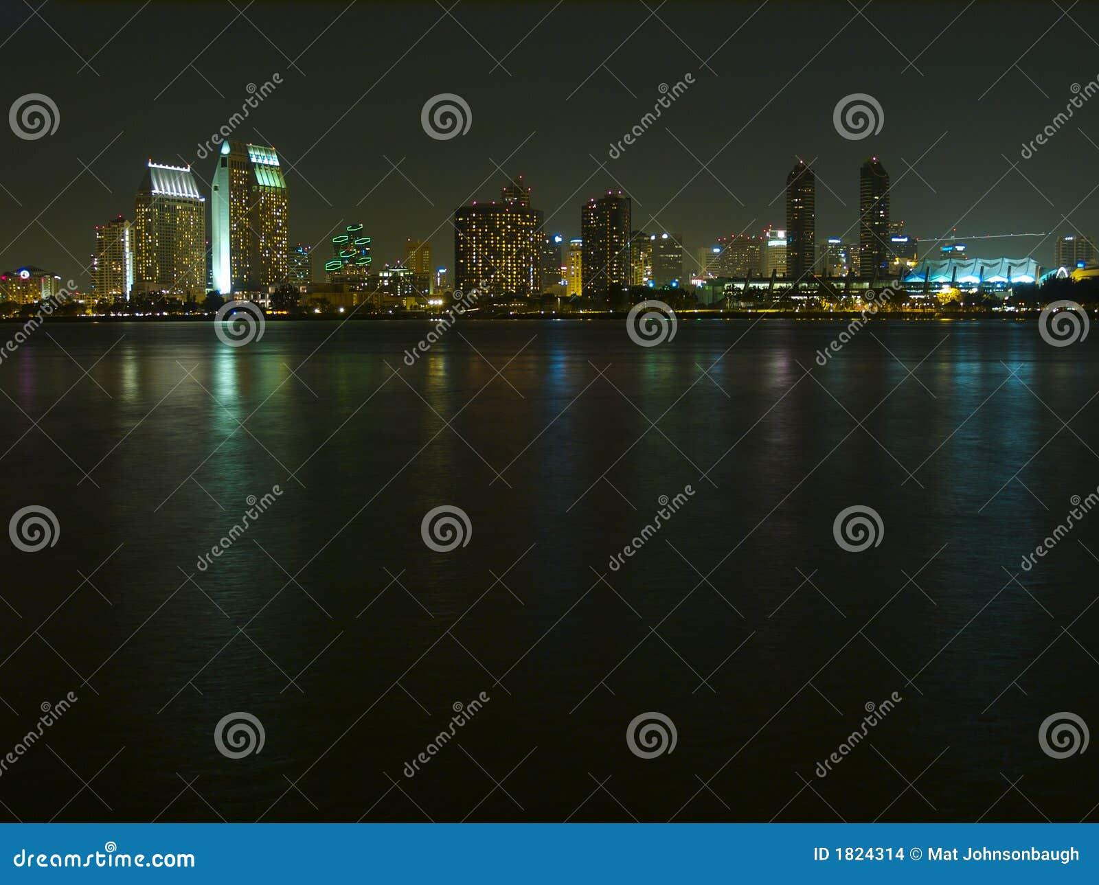 San diego nocy linia horyzontu