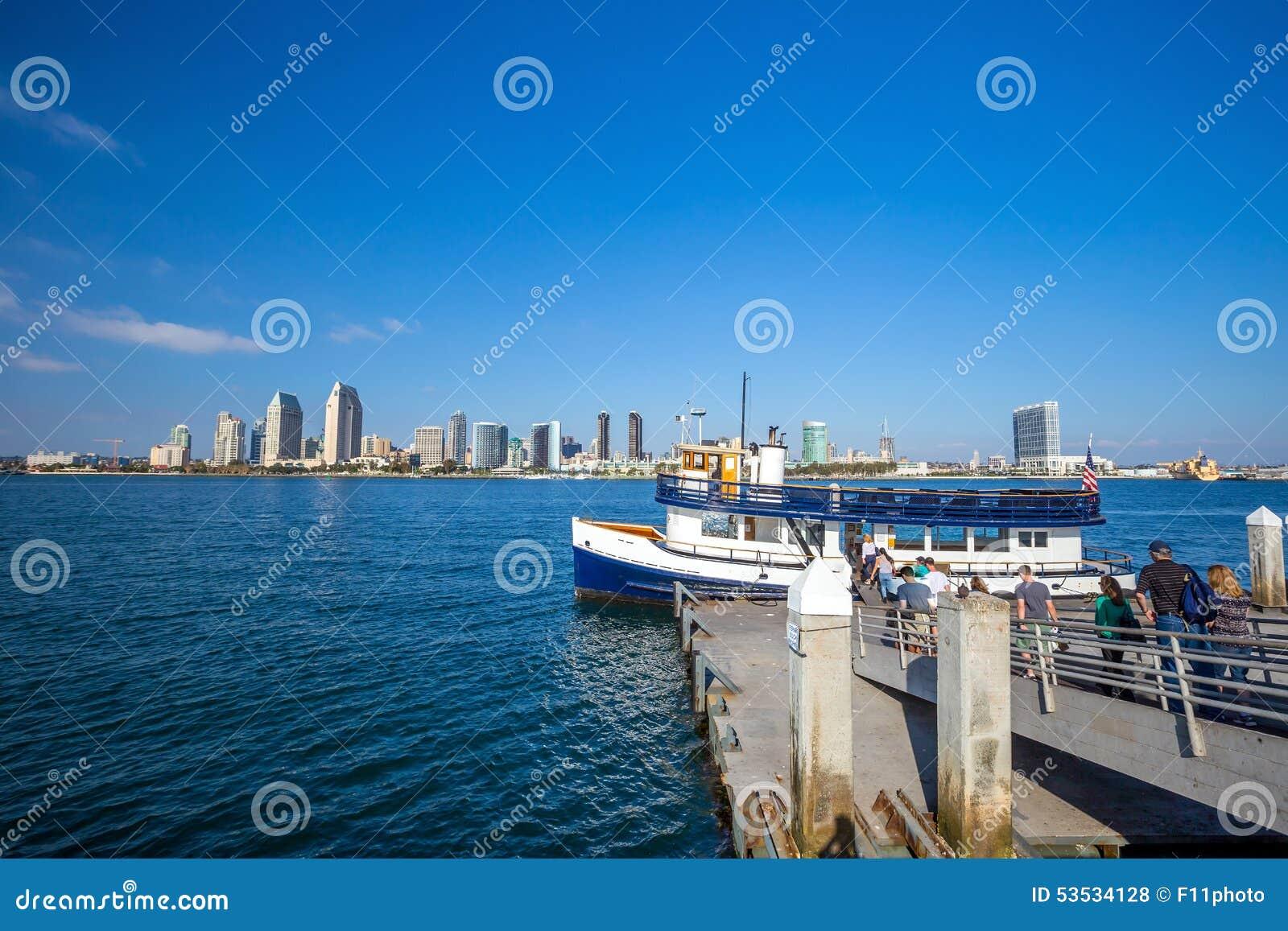 San Diego skyline CA