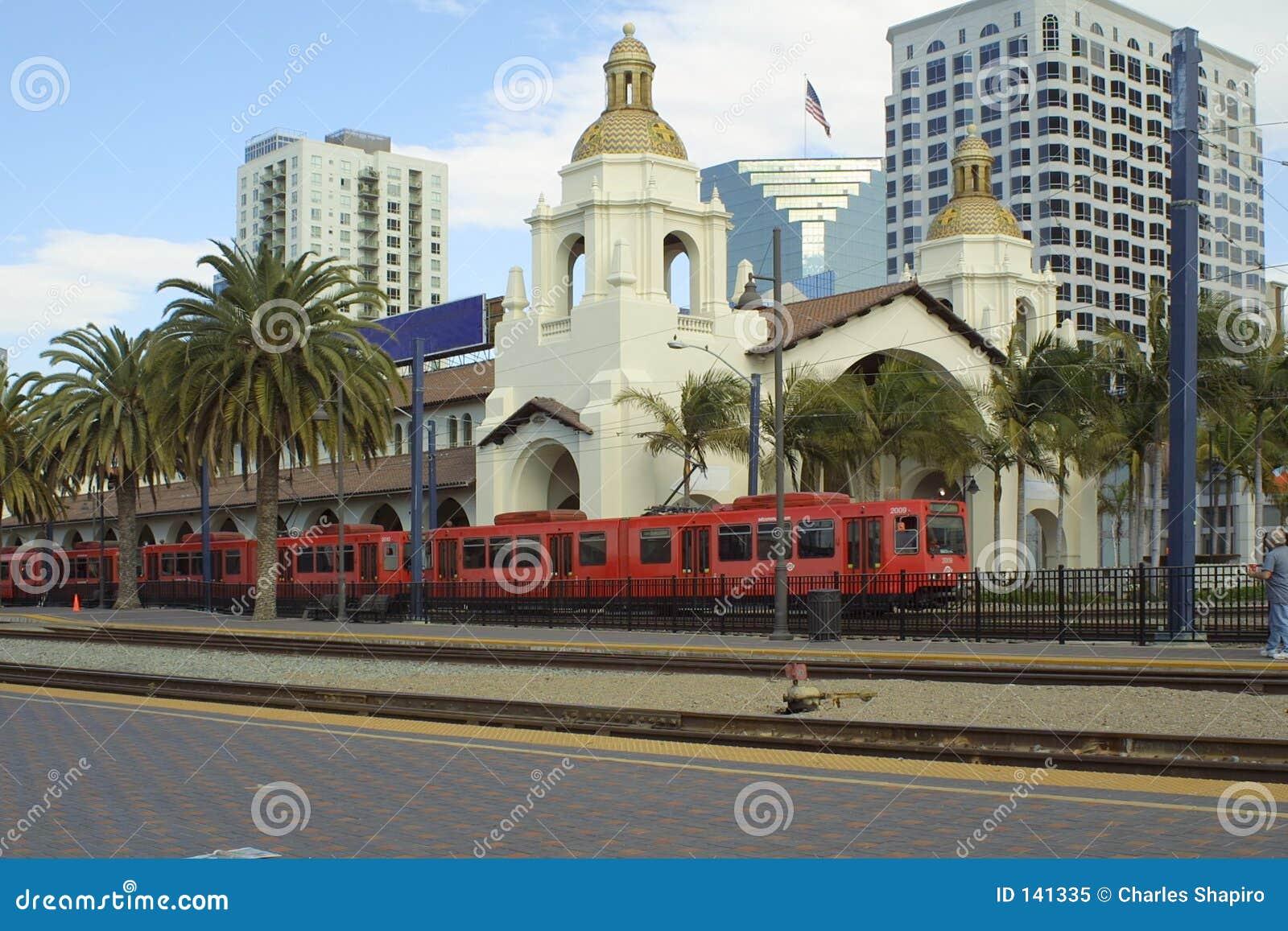 San diego stacji pociągu