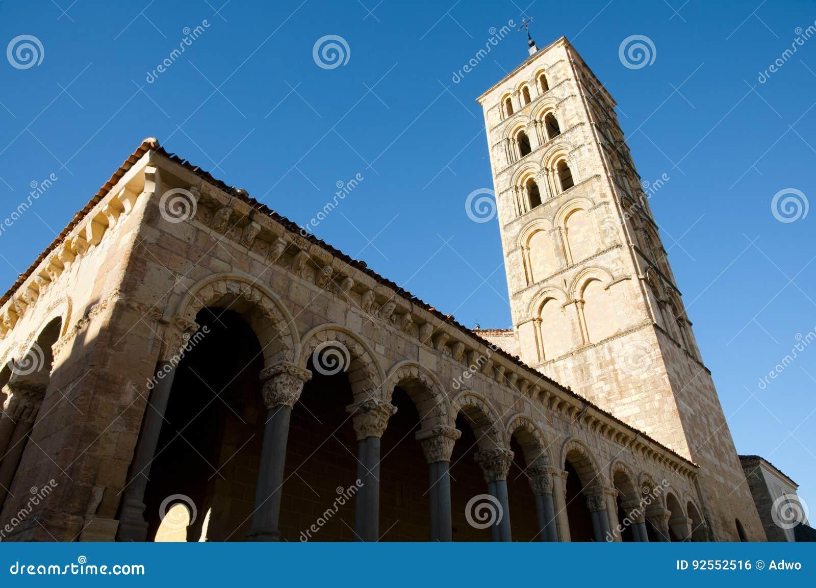 San Esteban Church Tower - Segovia - la Spagna