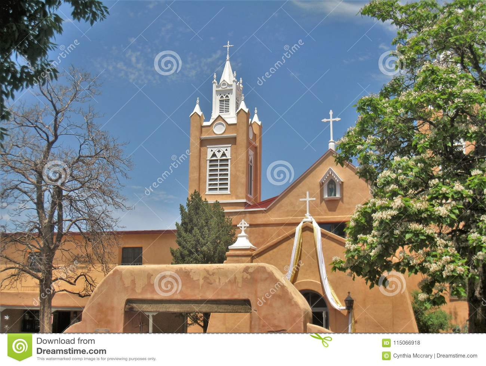 San Felipe De Neri Parafia w Albuquerque