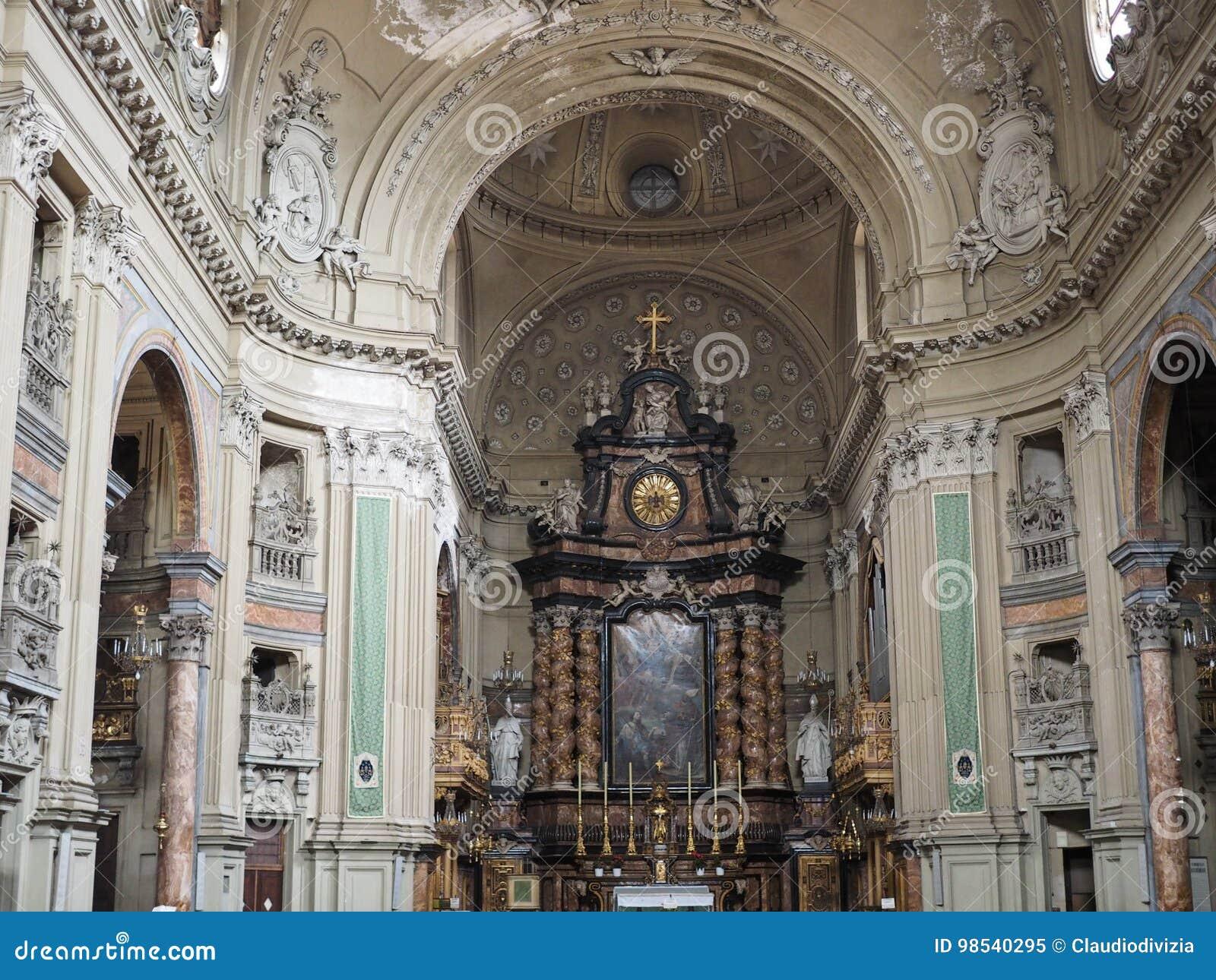 San Filippo Neri kyrka i Turin
