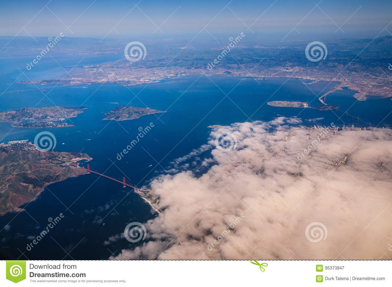 San Francisco From The Air