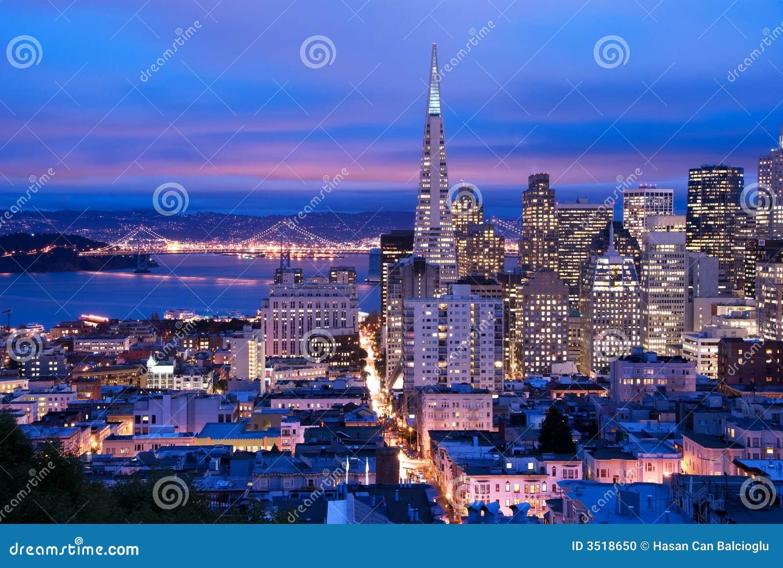 San Francisco al crepuscolo