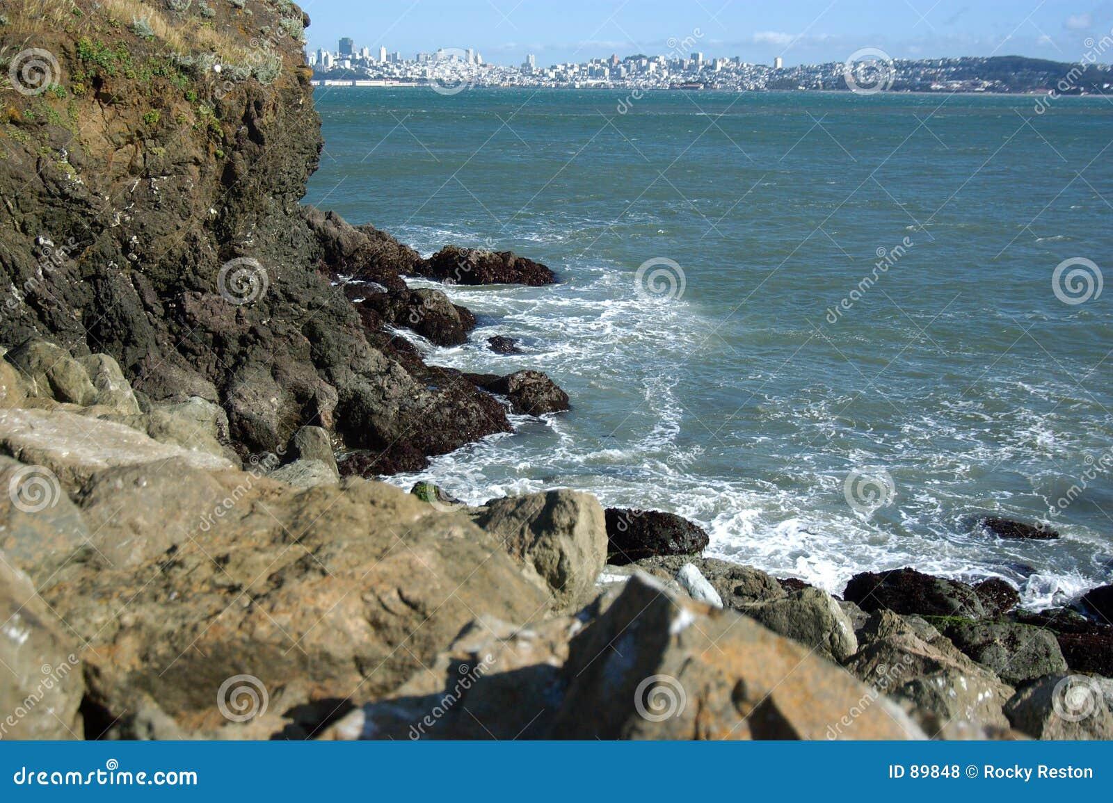 San Francisco bay rock