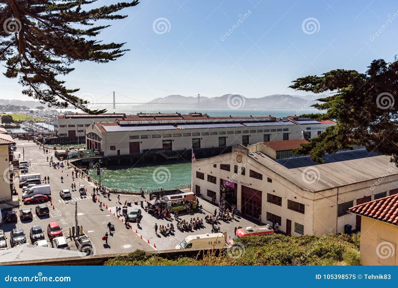 San Francisco, CA - juillet 17, 2017 : Maçon historique de fort, une fois kno