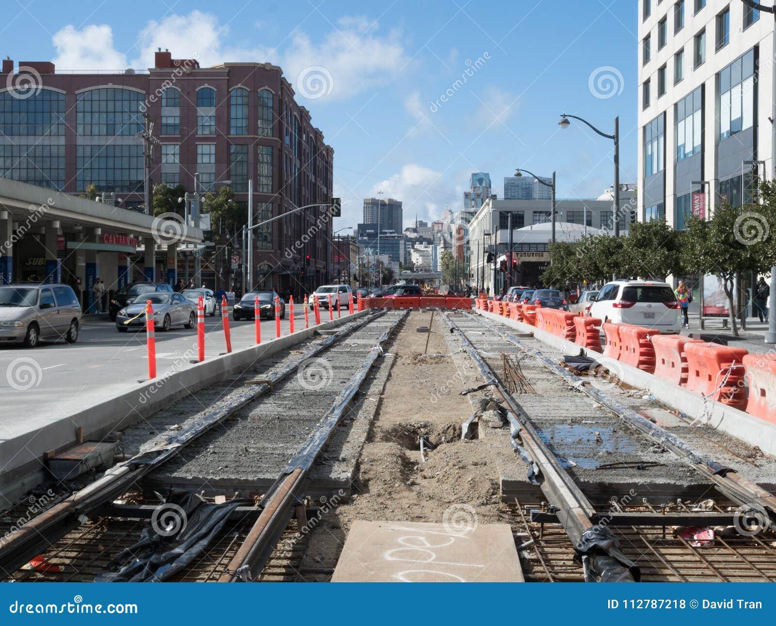 Transportation construction in San Francisco