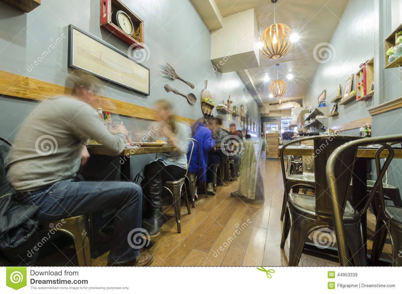 San francisco cafe restaurant editorial stock image   image: 44953339