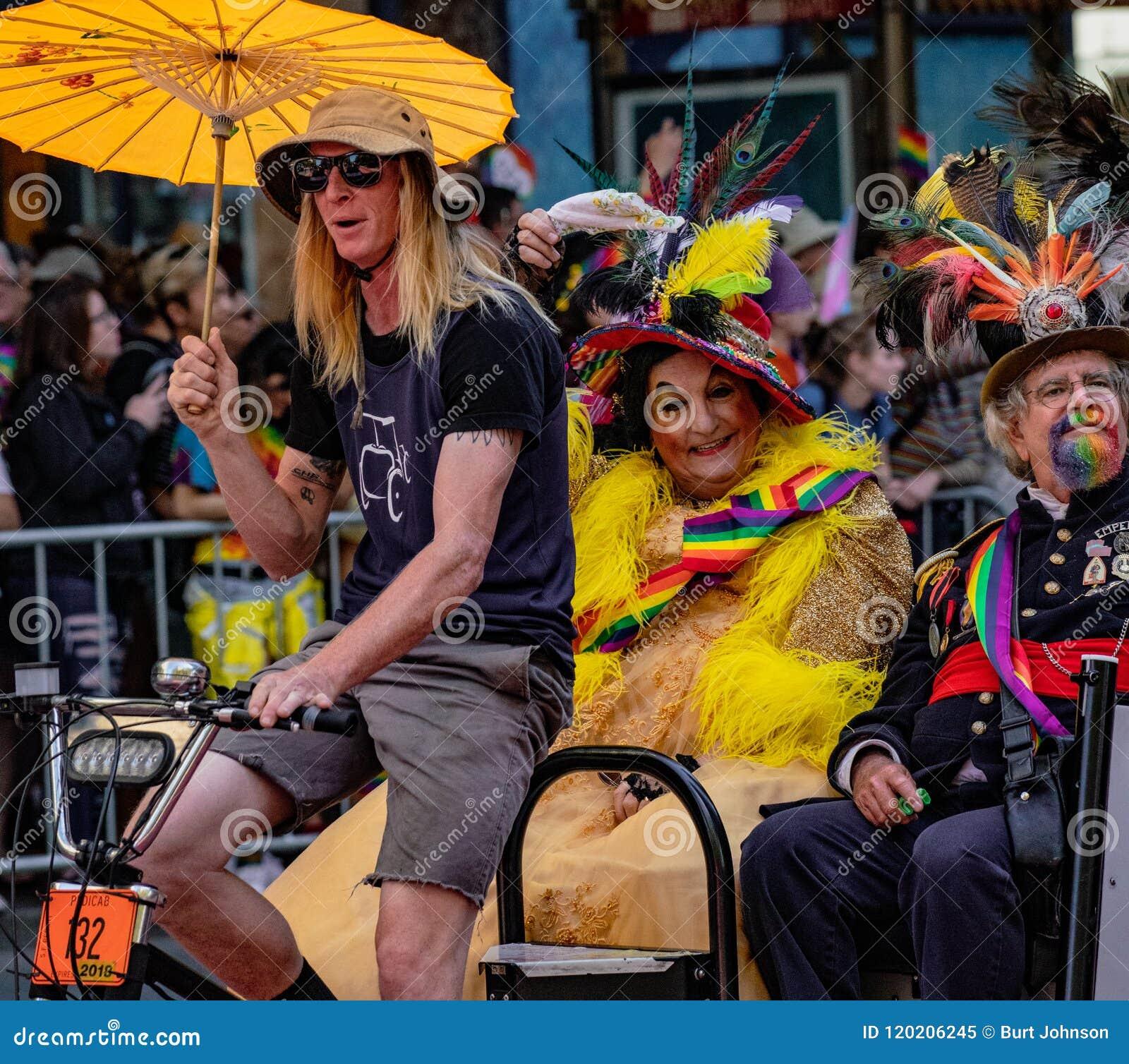 San Francisco 49th Annual Gay Pride Parade Editorial Image