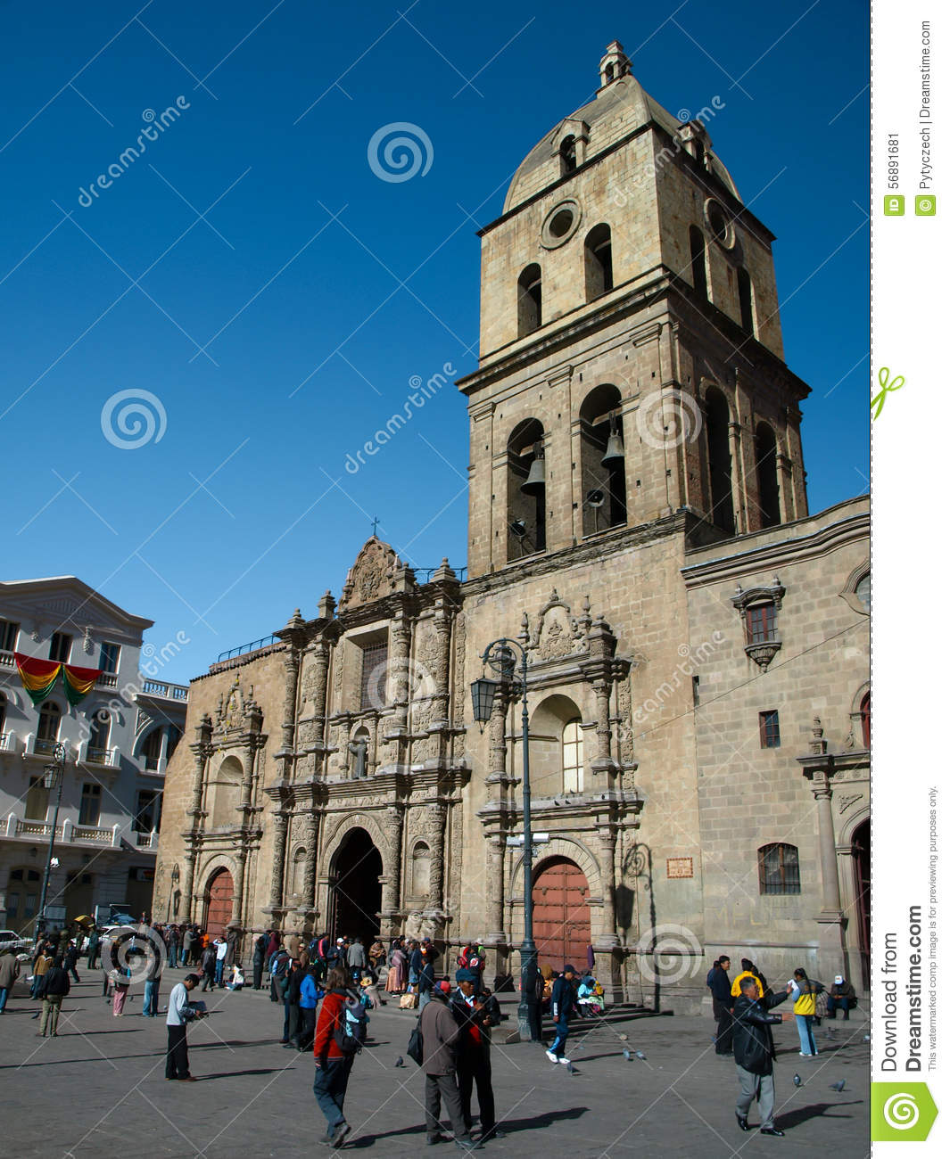 San Francisco Cathedral in La Paz