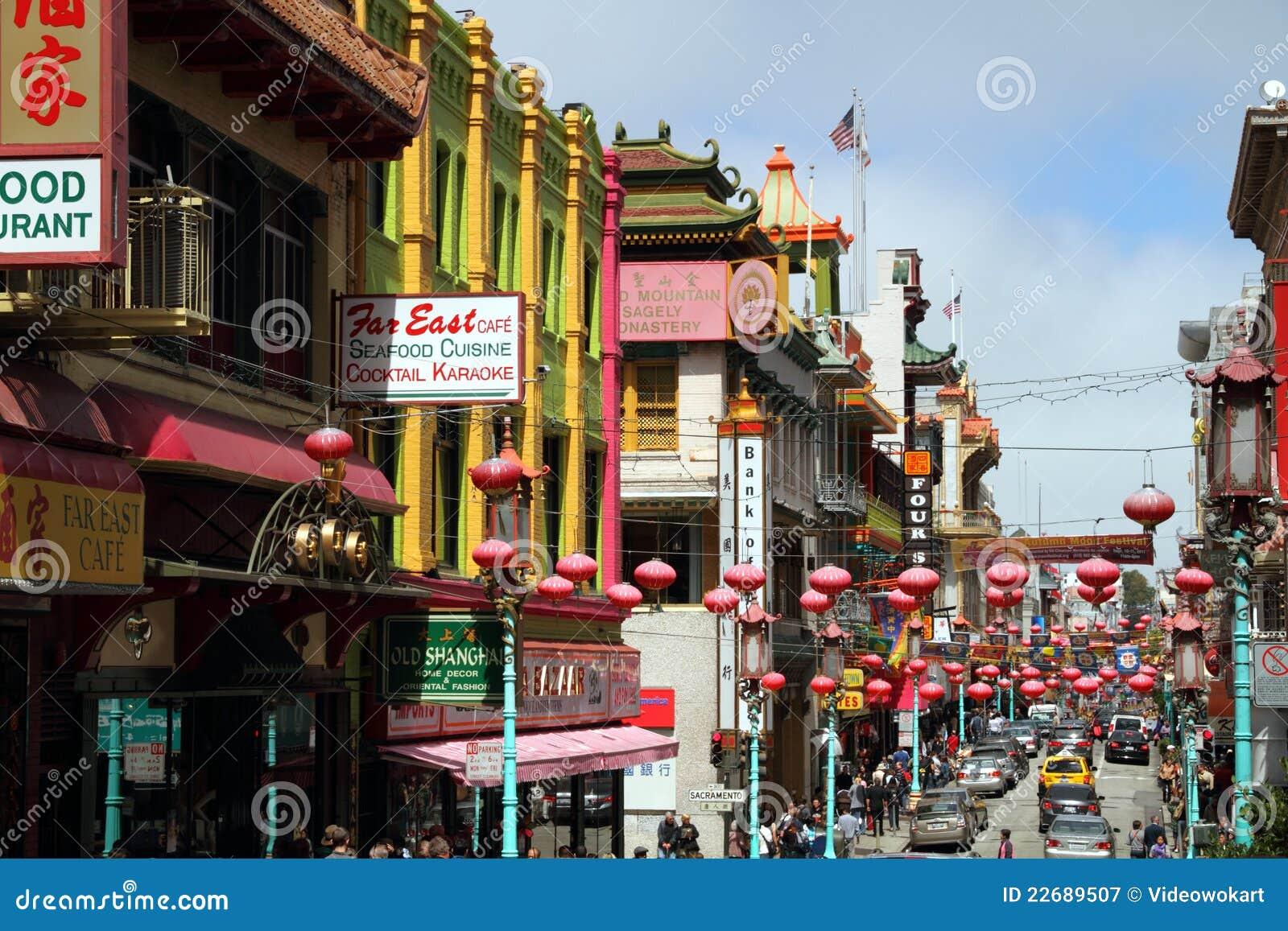 San Francisco Chinatown, Califórnia, EUA