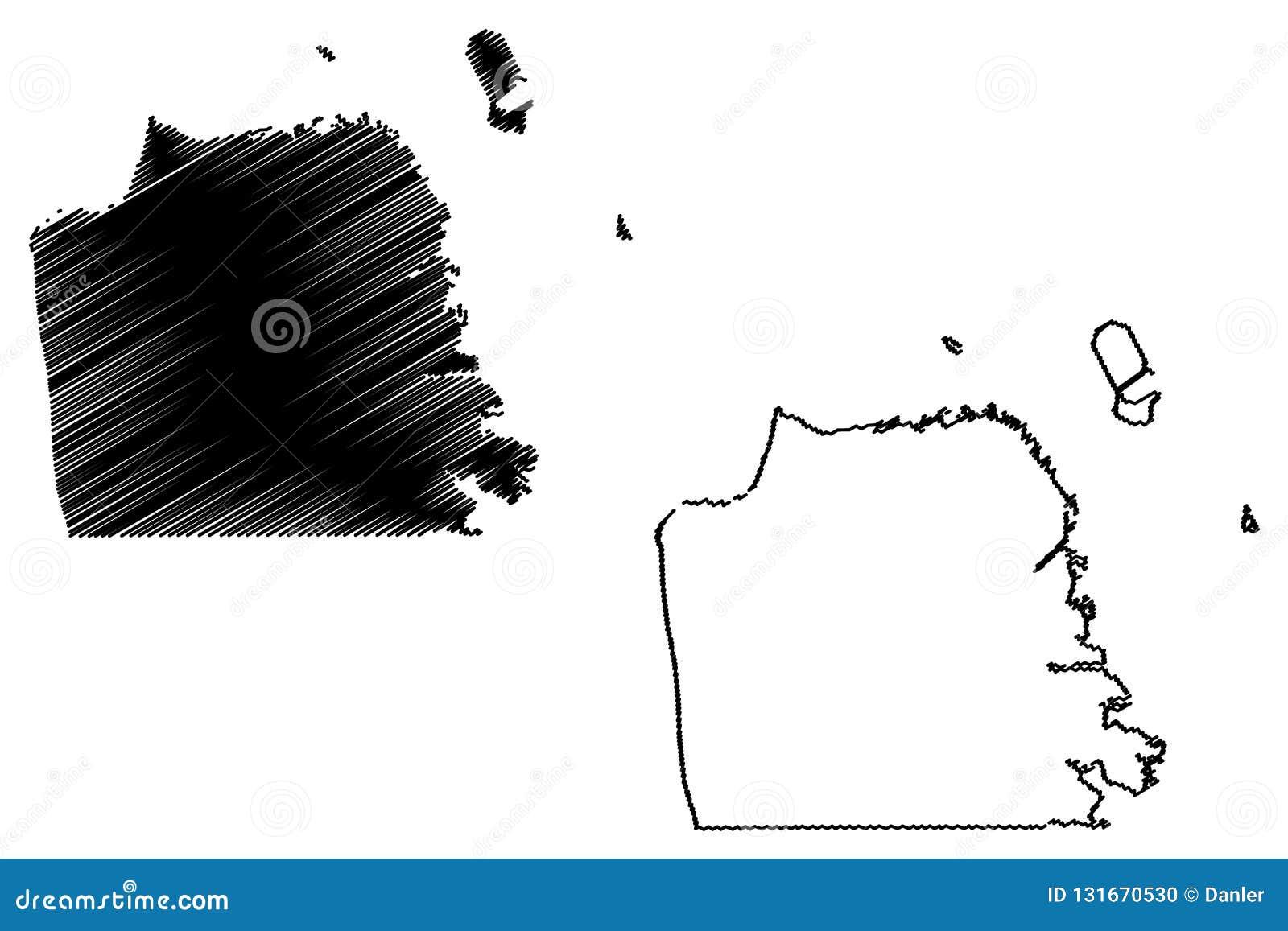 San Francisco City Map Vector Stock Vector - Illustration of ...