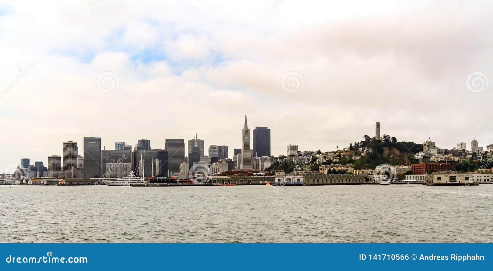 San Francisco Cityscape on the skyline