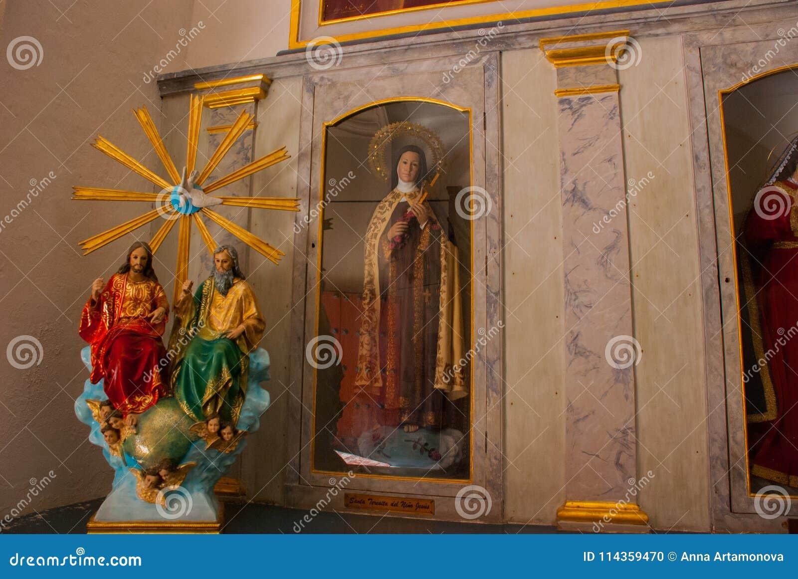 San Francisco de Campeche, Mexiko Innenkathedrale in Campeche