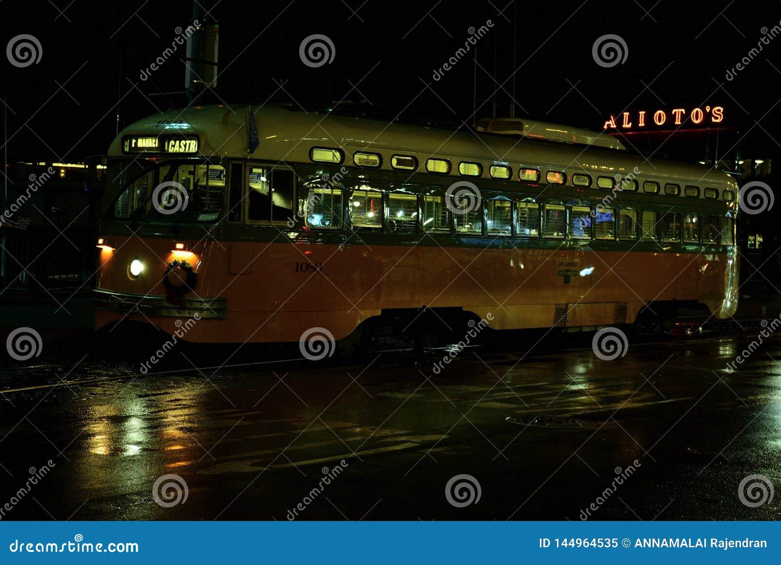 San Francisco Electrical Tram