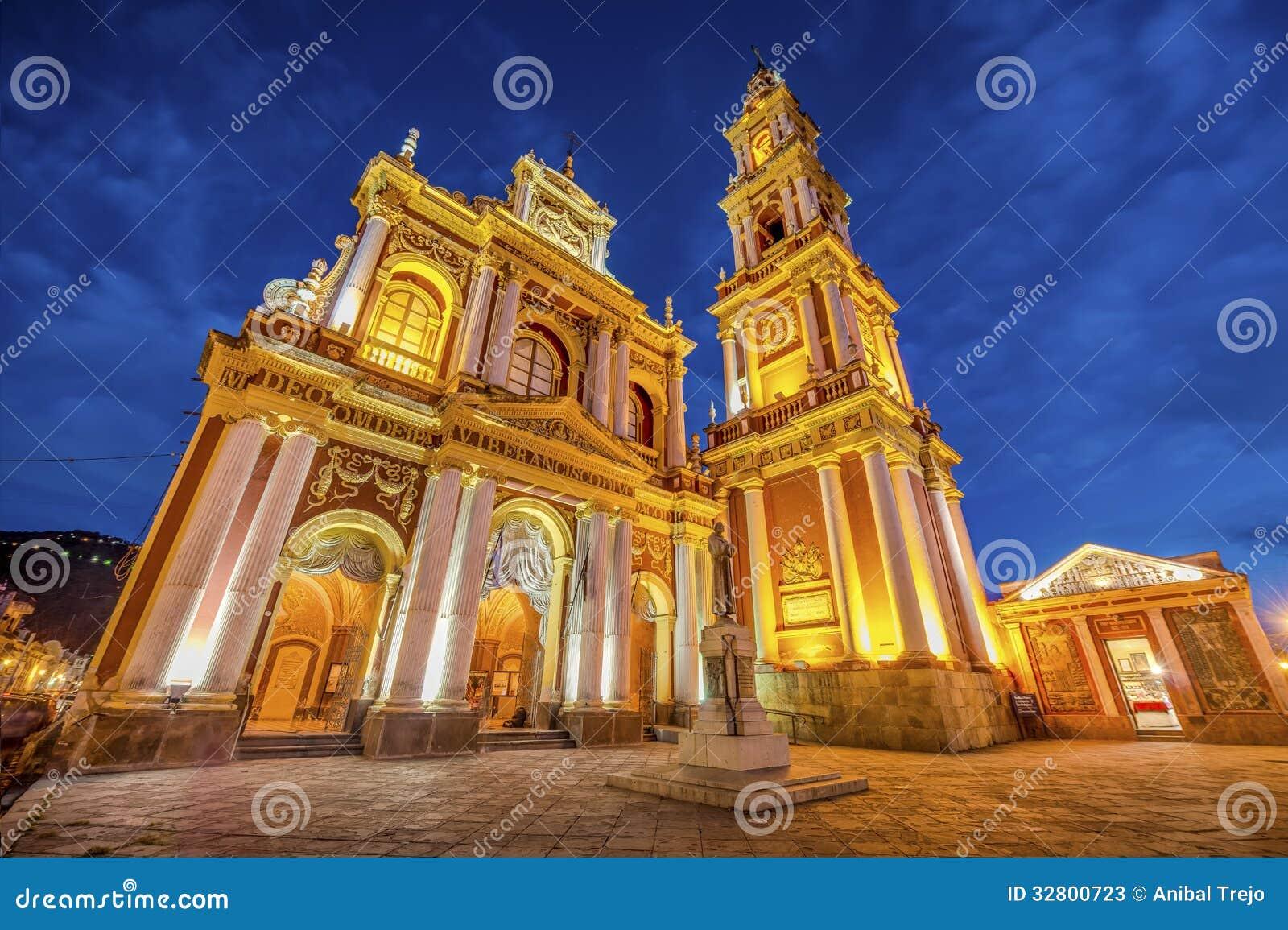 San Francisco en la ciudad de Salta, la Argentina