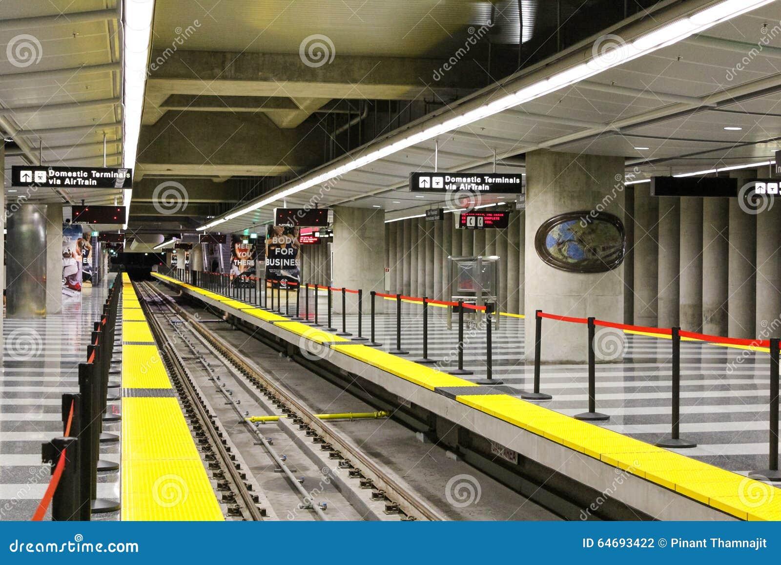 San Francisco, Etats-Unis - 1er octobre : BART (transit rapide de région de baie)
