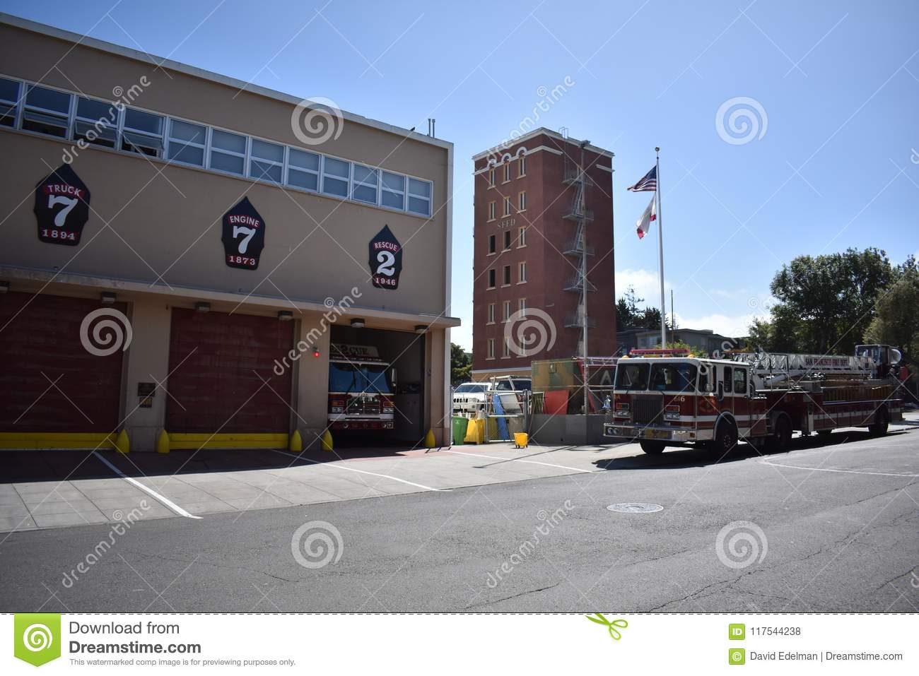 San Francisco Fire Department station 7 and training center, 3.