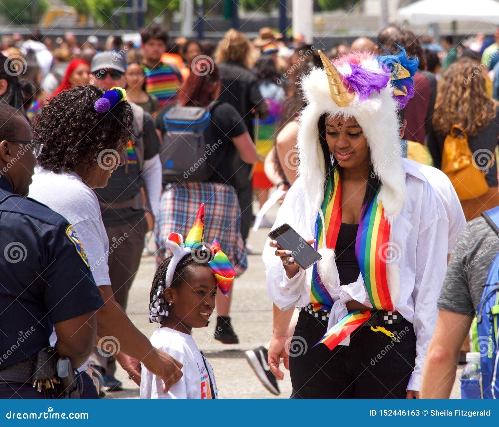 San Francisco Gay Pride Festival Editorial Stock Image