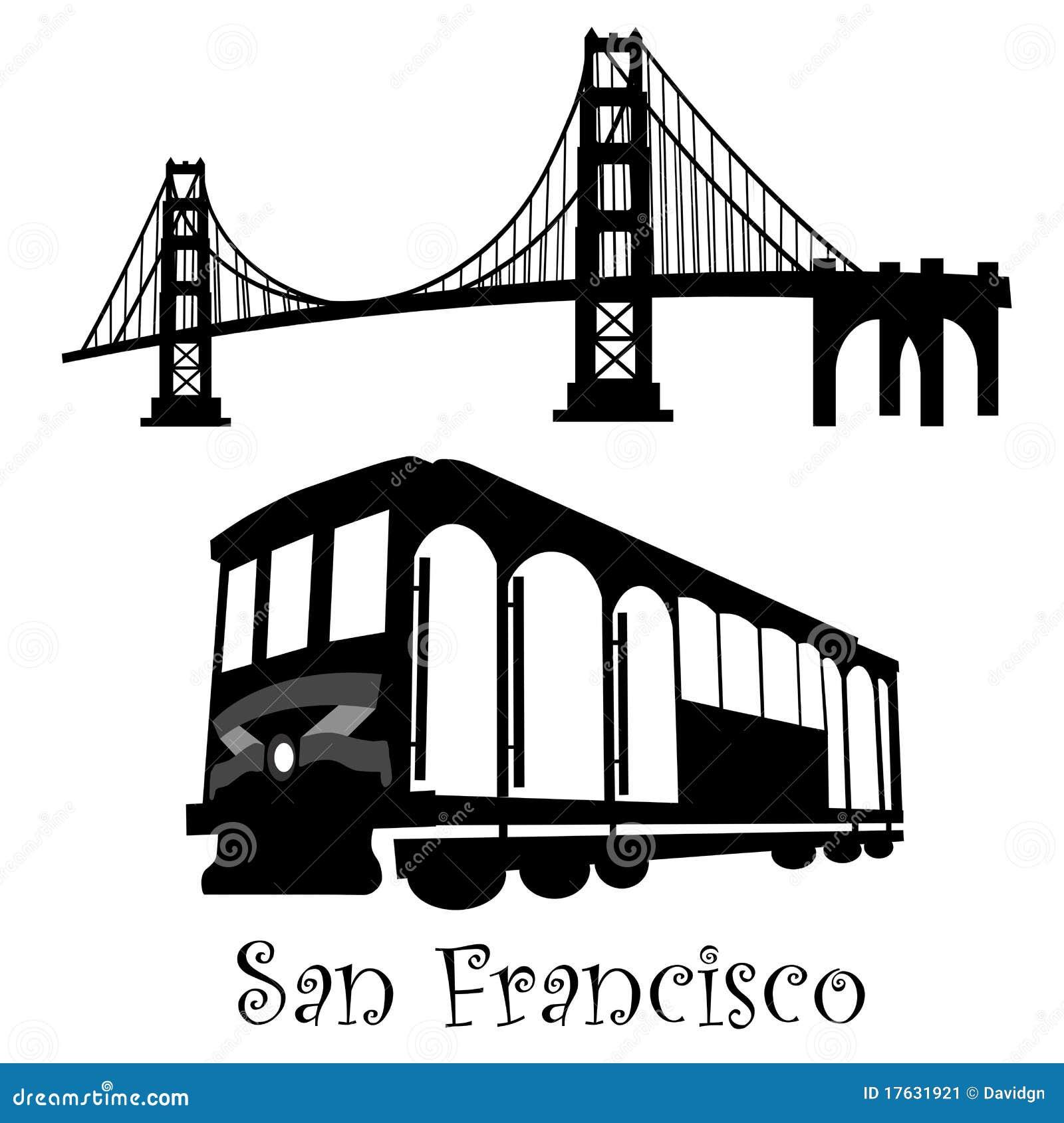San Francisco Golden Gate Bridge Cable Car