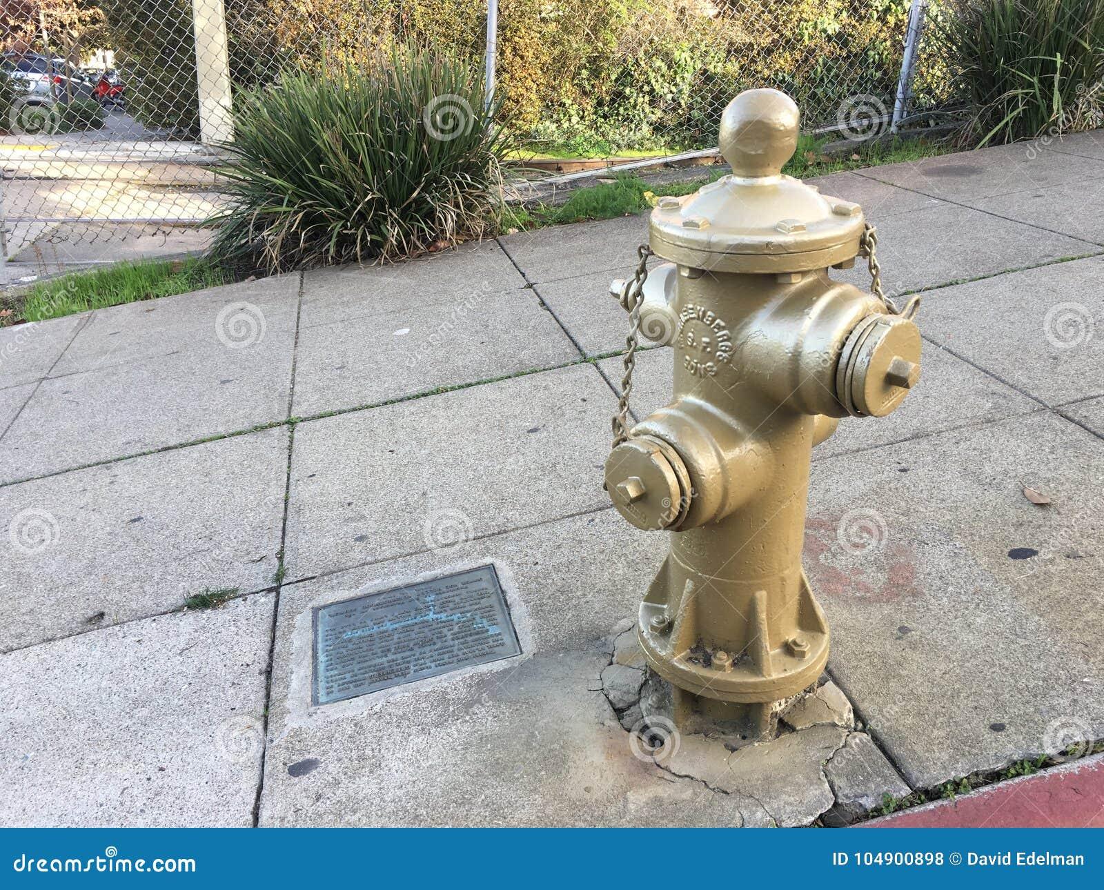 San Francisco historique, or, bouche d incendie 1